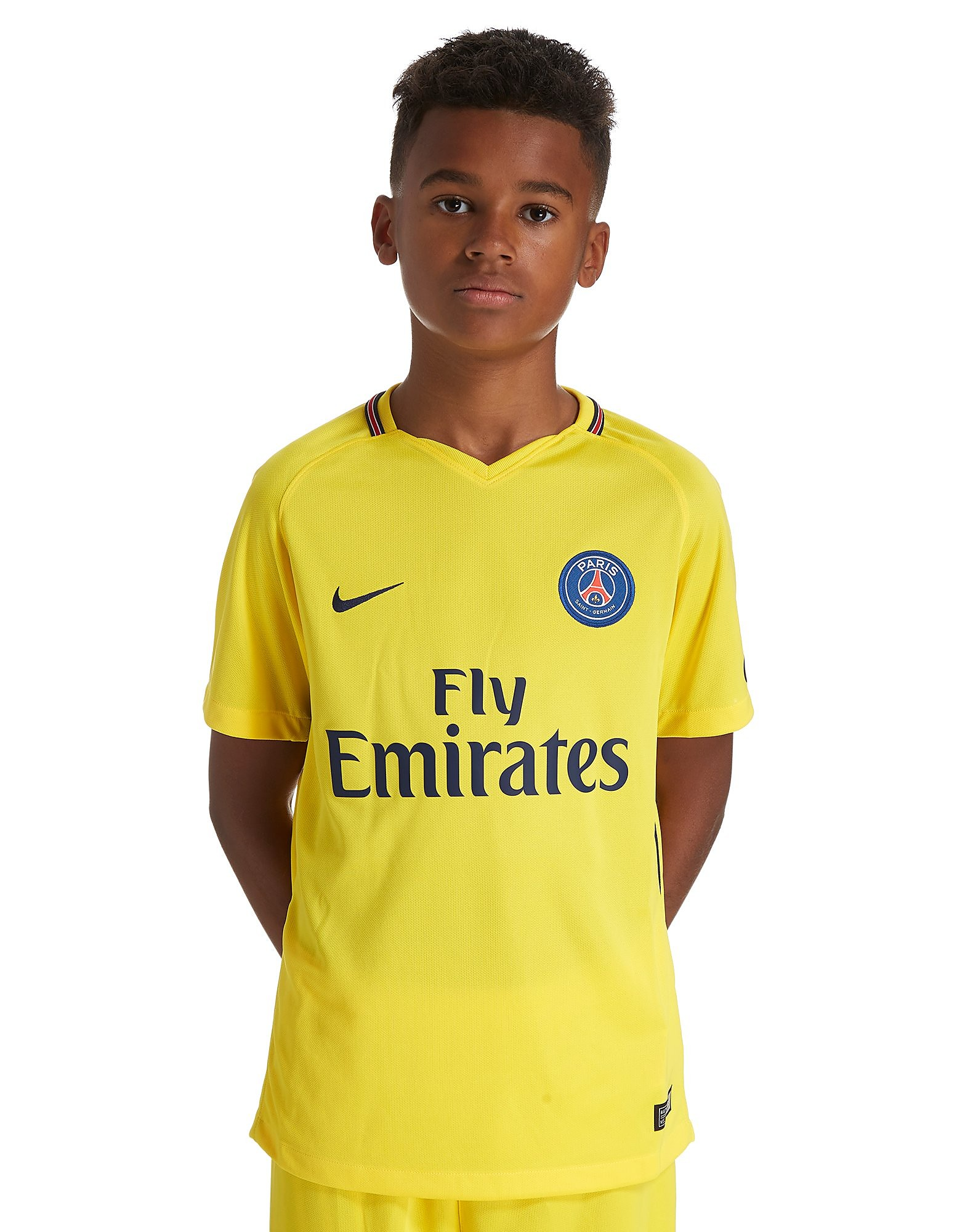 Nike Paris Saint Germain 2017/18 Away Shirt Junior