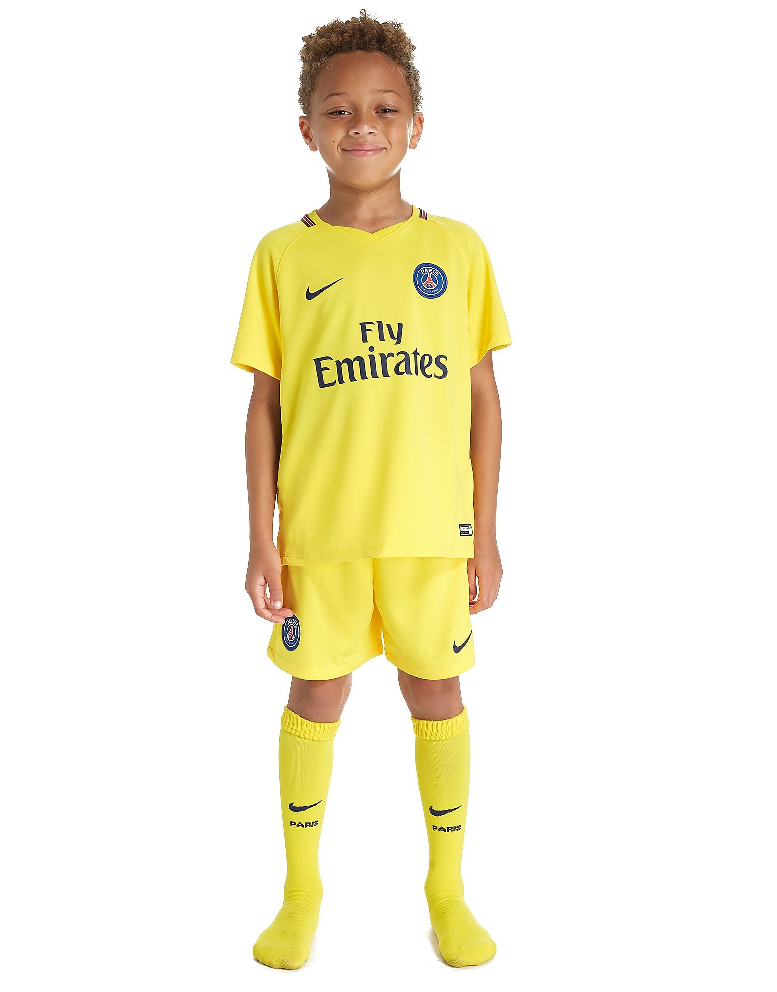 Nike Paris Saint Germain 2017/18 Away Kit Children