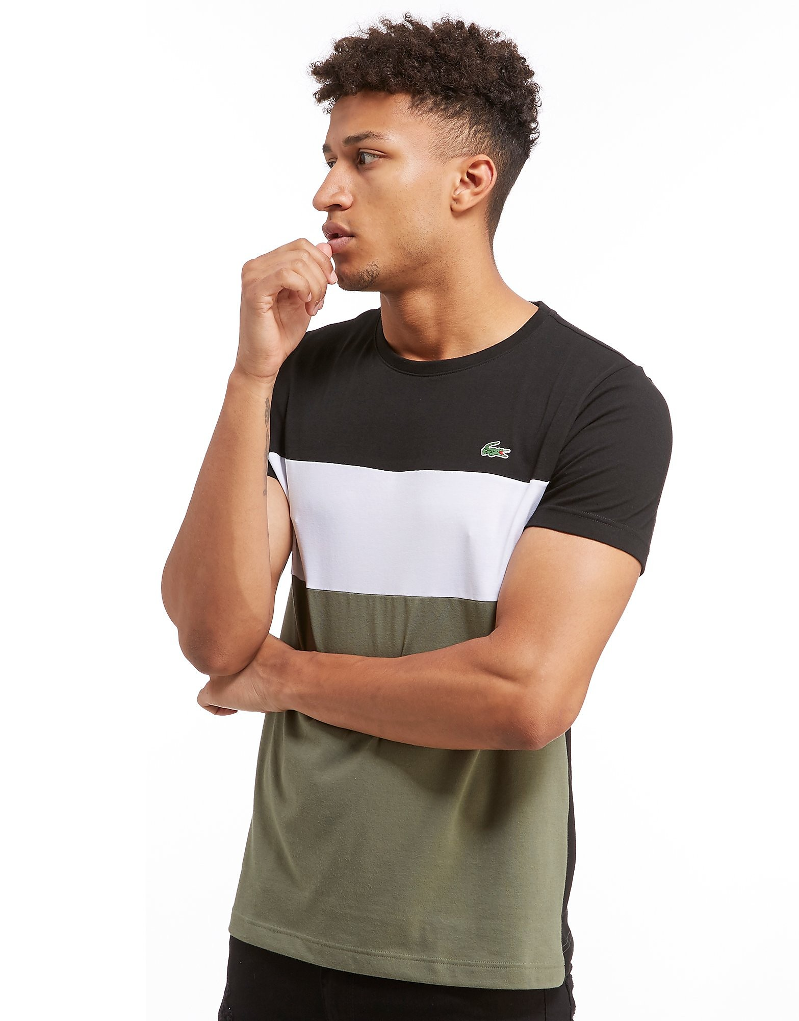 Lacoste T-shirt Colourblock Homme