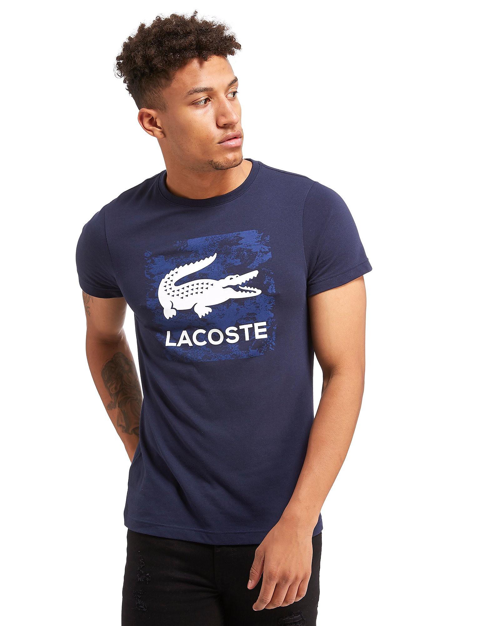 Lacoste Big Croc Print T-Shirt