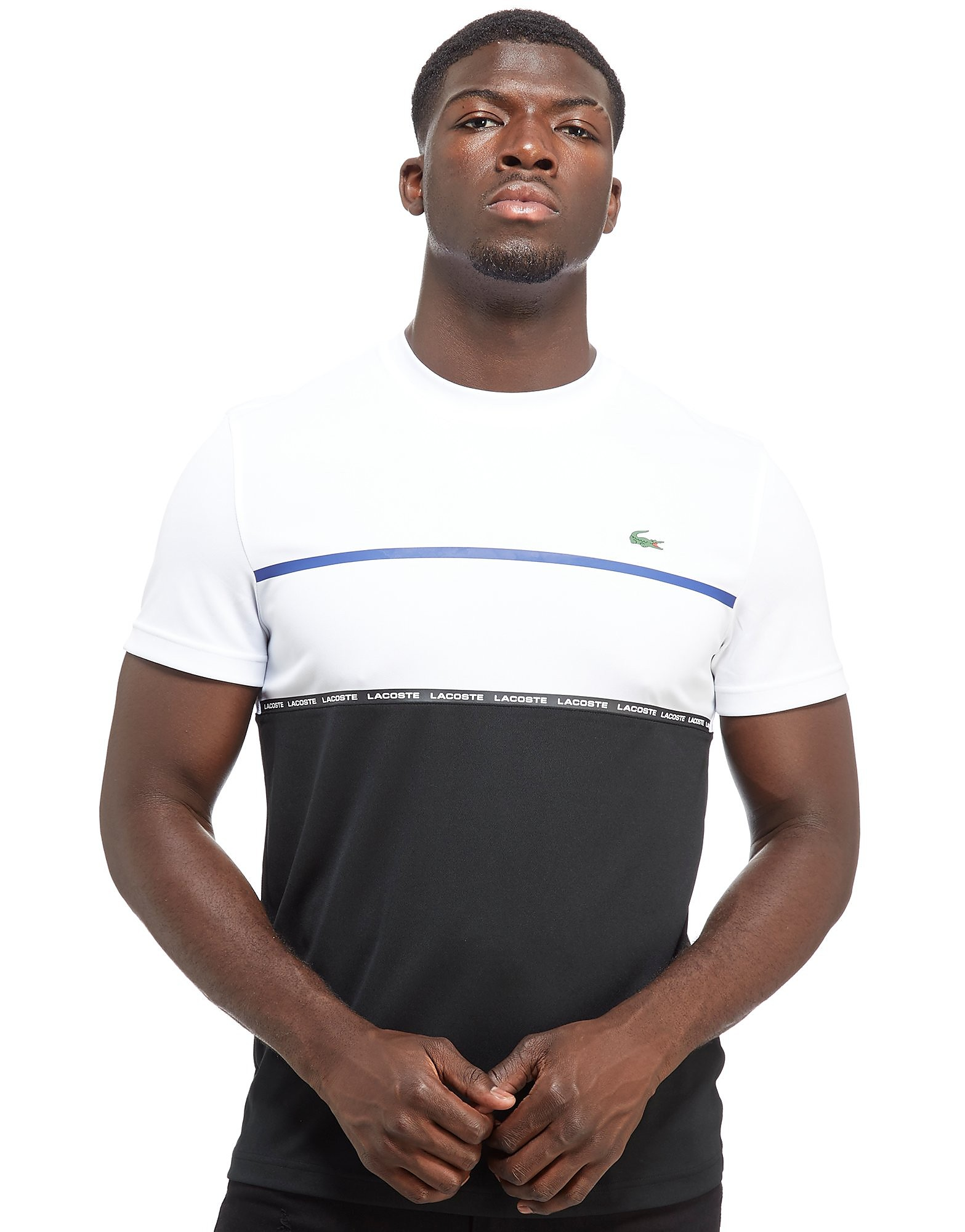Lacoste Fall Colorblock Crew T-Shirt Heren