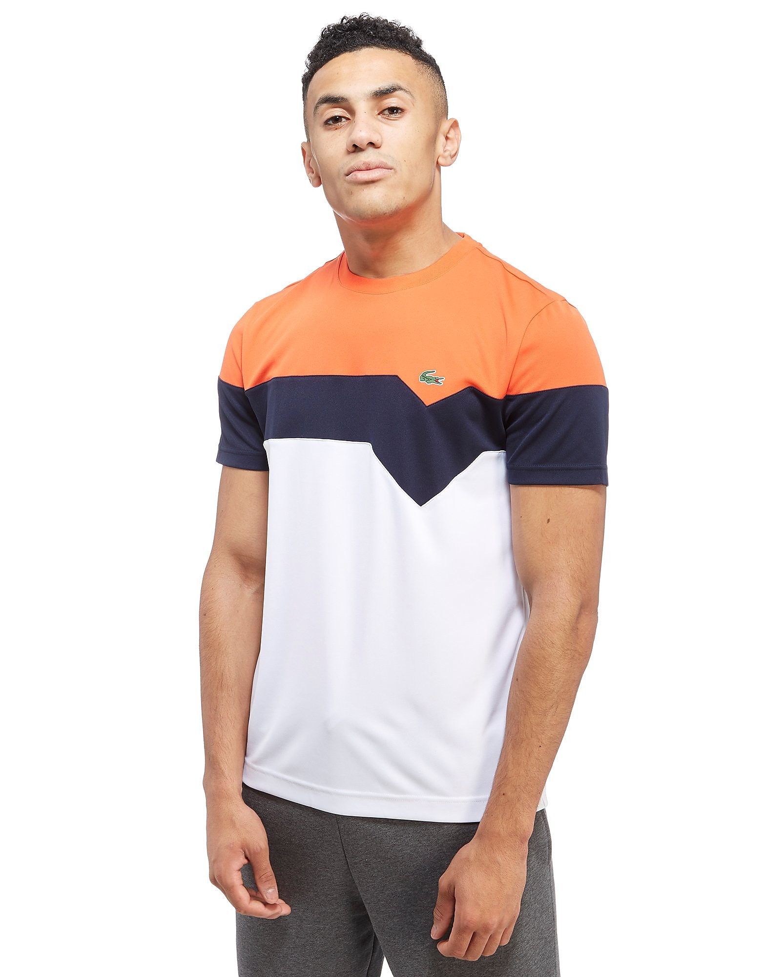 Lacoste Chevron Poly T-Shirt