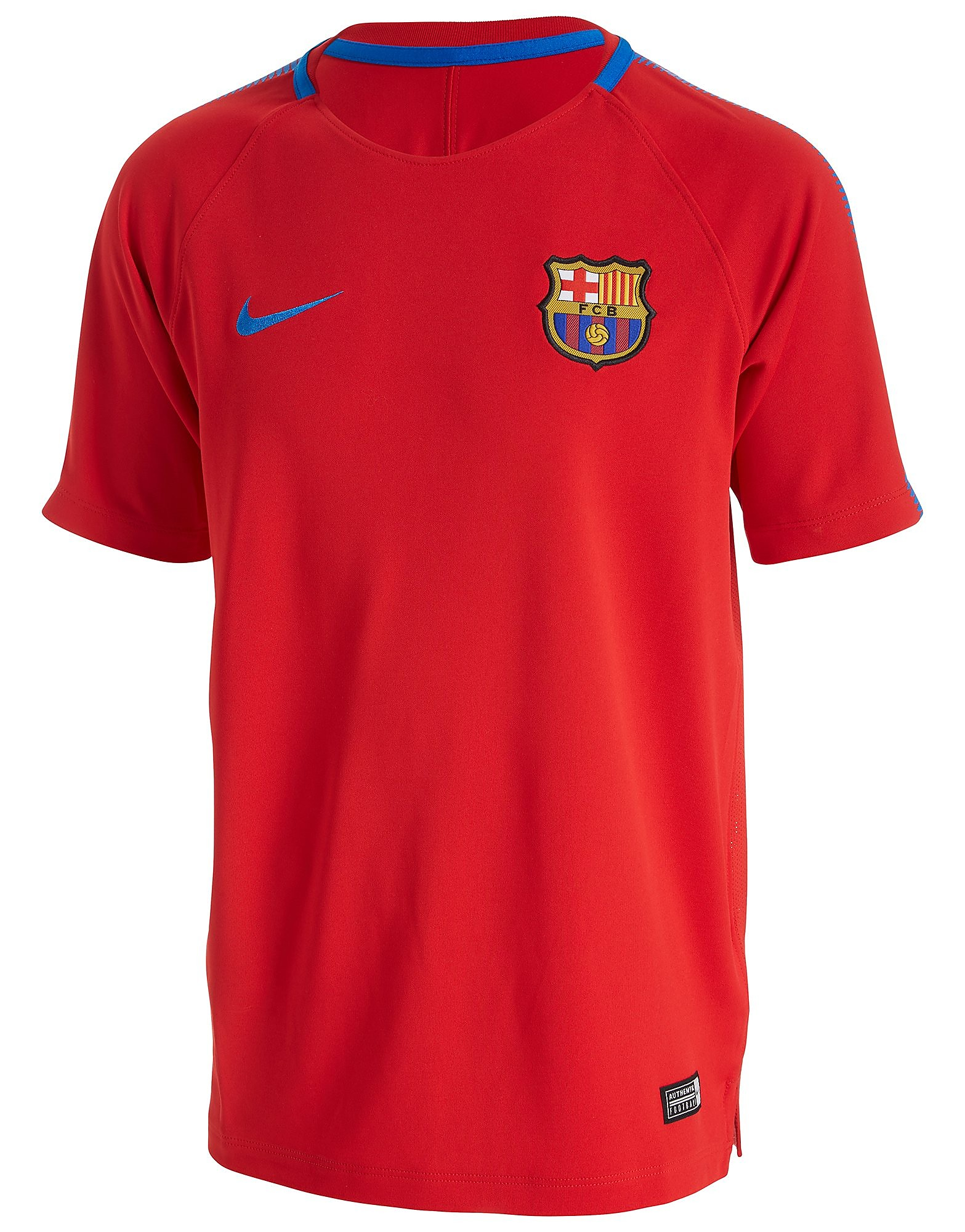 Nike FC Barcelona Squad Training Top Junior