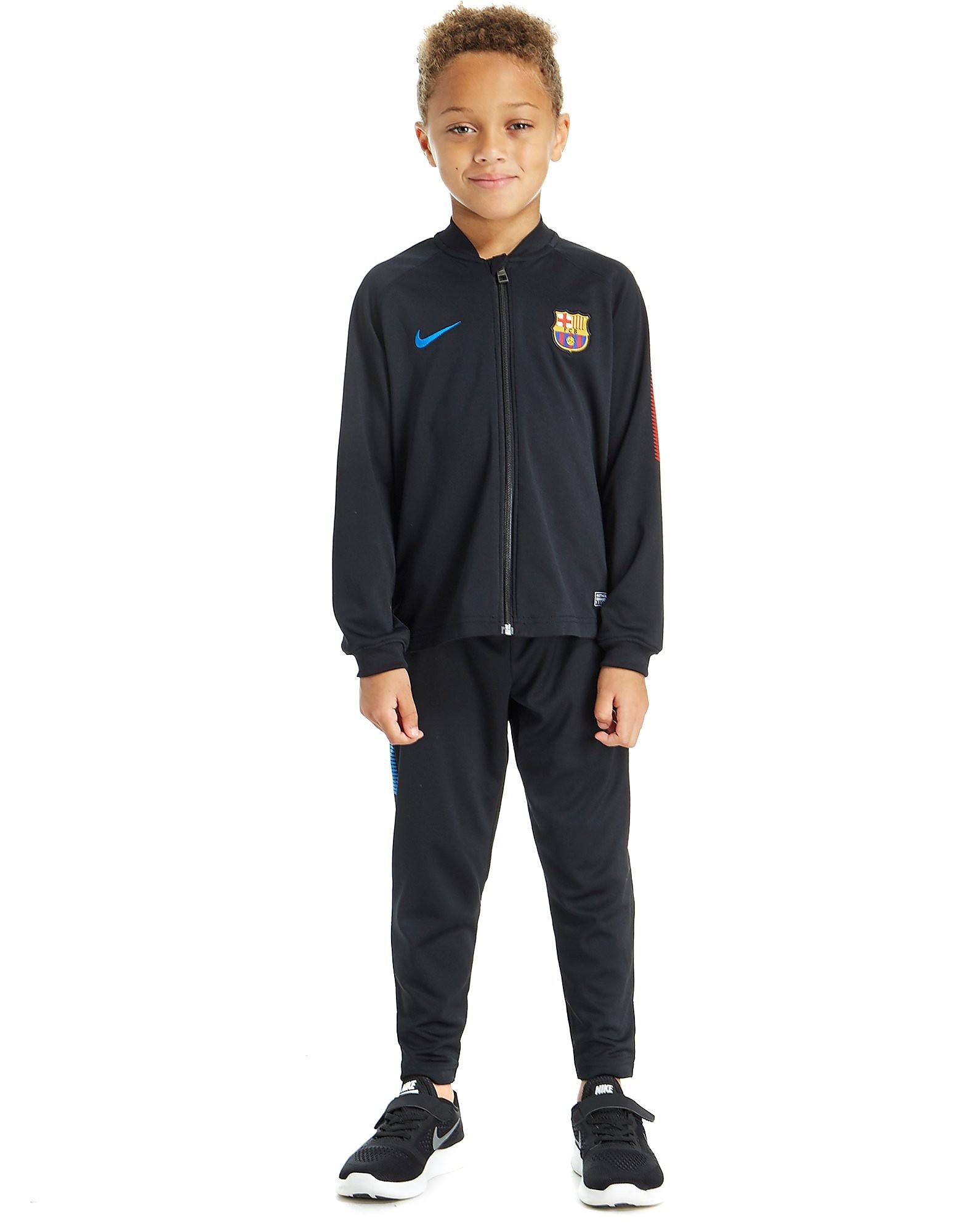 Nike FC Barcelona Track Suit Children