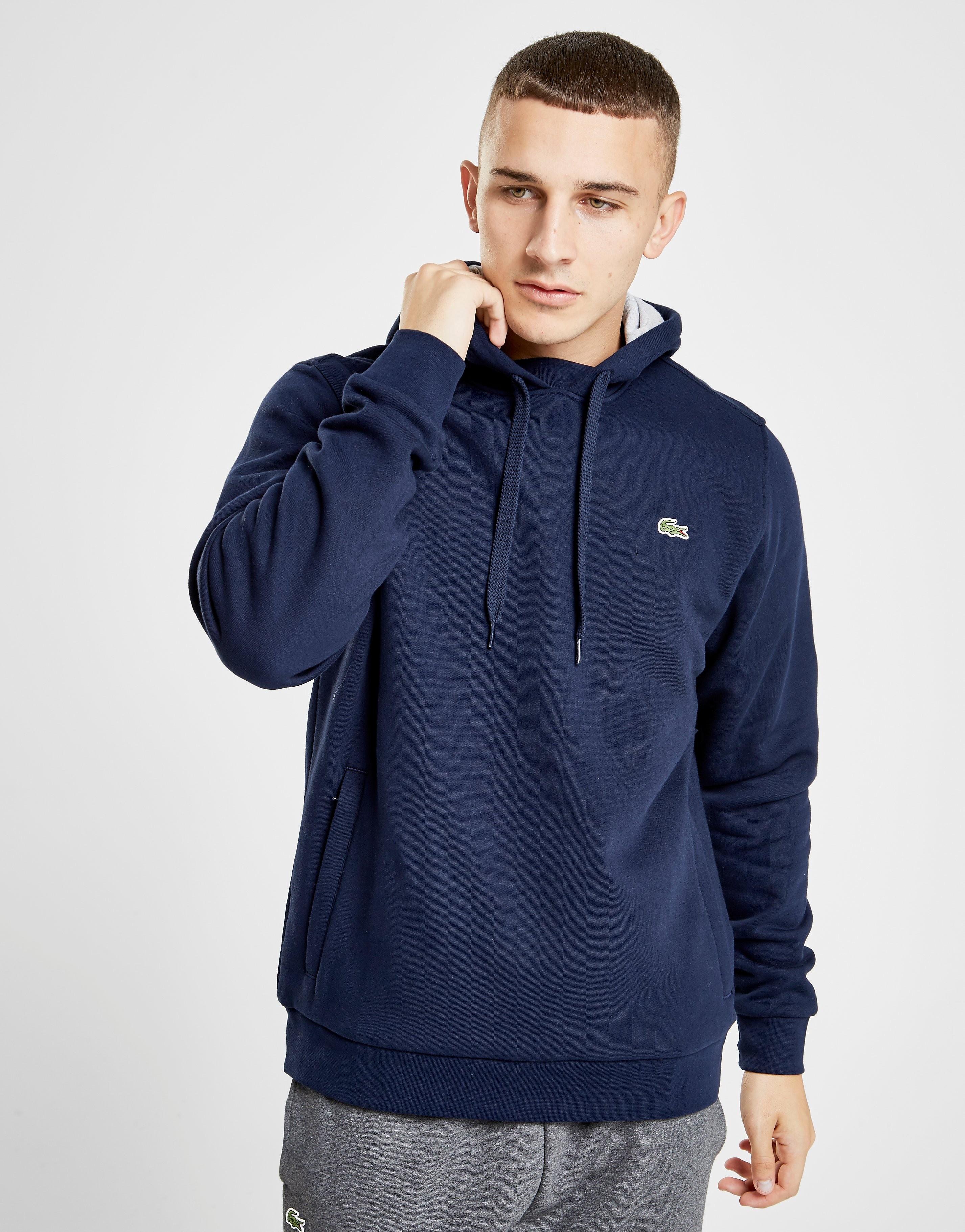 Lacoste Sport Fleece Hoodie - Blauw - Heren