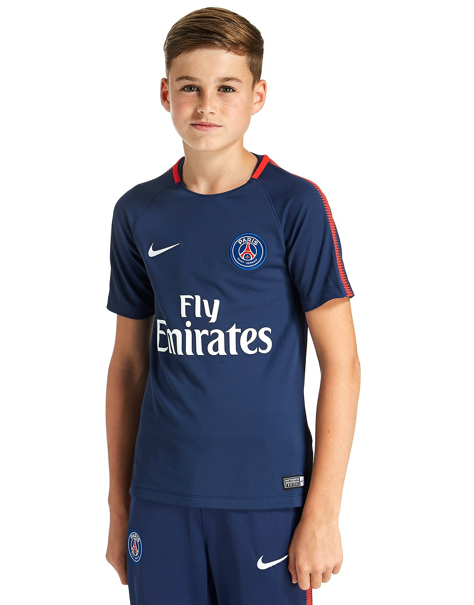 Nike Paris Saint Germain Squad Training Jersey Junior