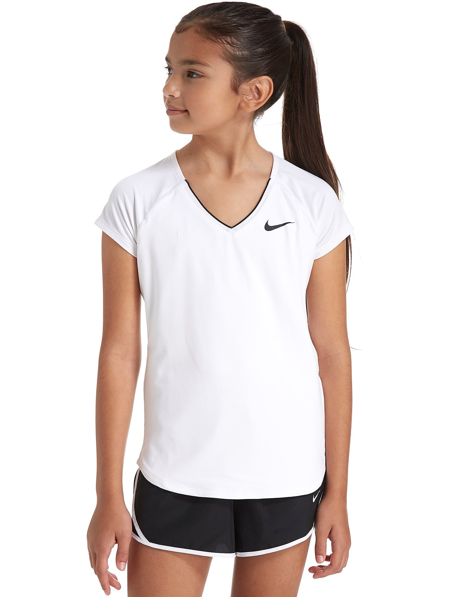 Nike Girls' Nike Pure Tennis Top Junior