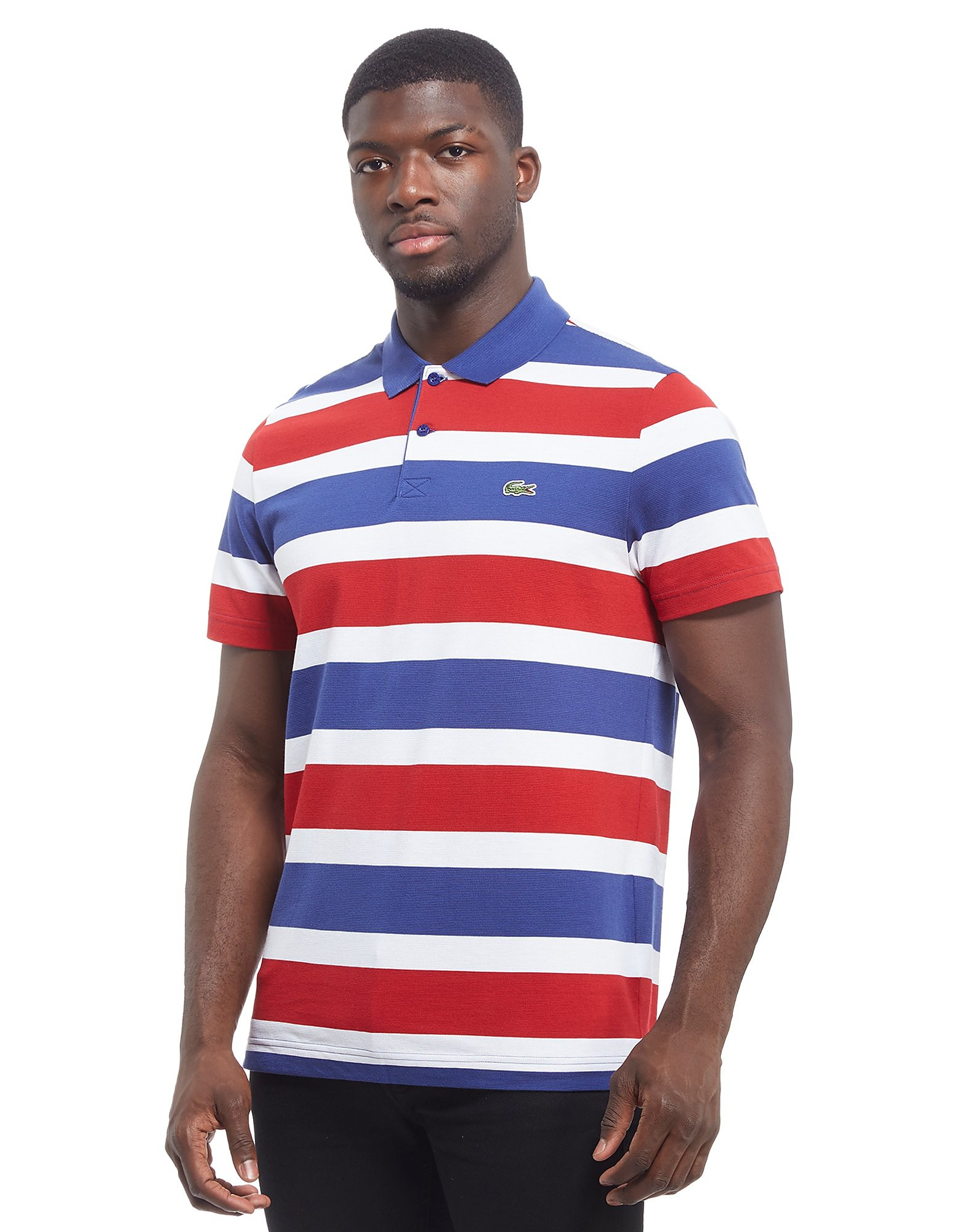 Lacoste Rugby Stripe Polo Shirt Heren