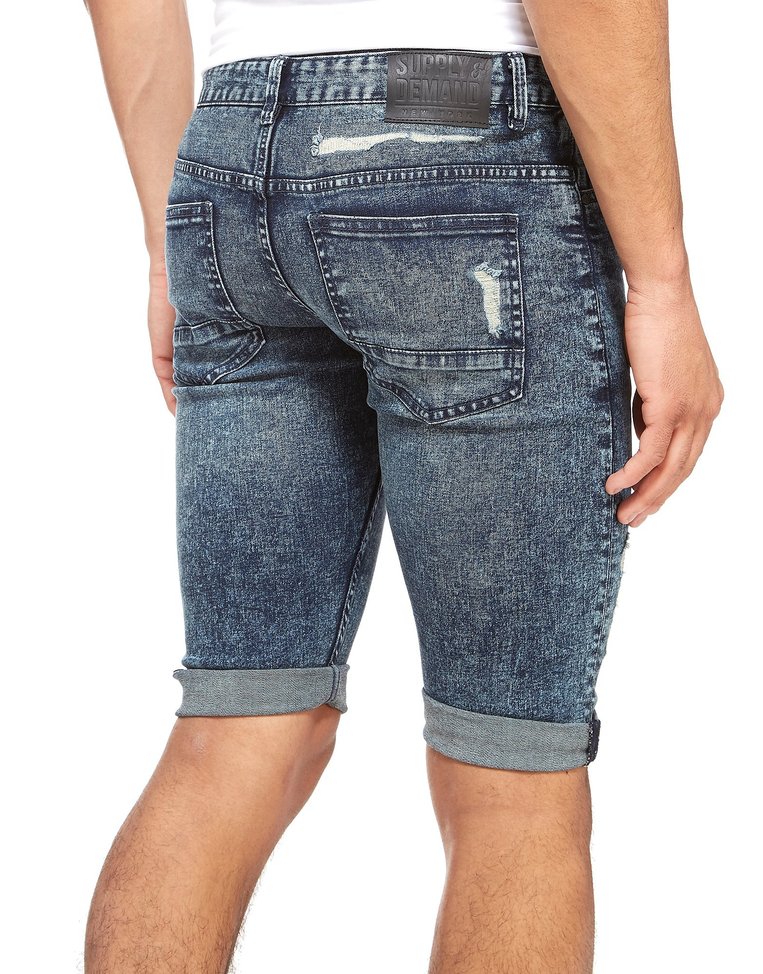 Supply & Demand Short Downtown Denim Homme