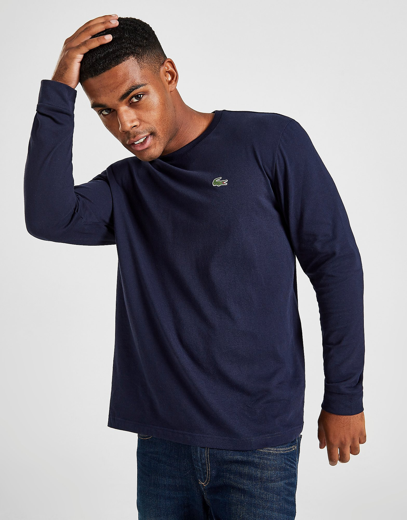 Lacoste Croc Long-Sleeved T-Shirt Heren