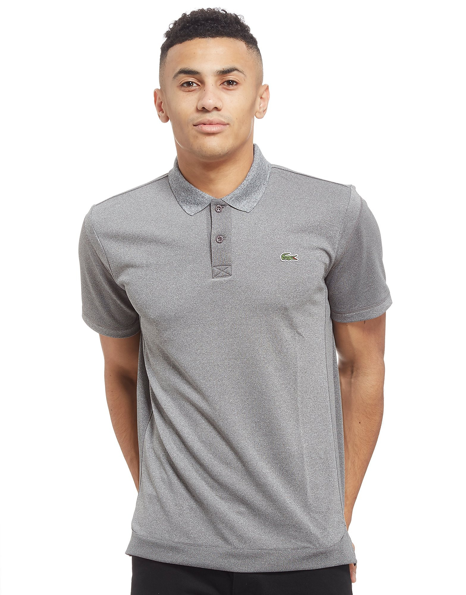 Lacoste Micro-Striped Jersey Polo Shirt