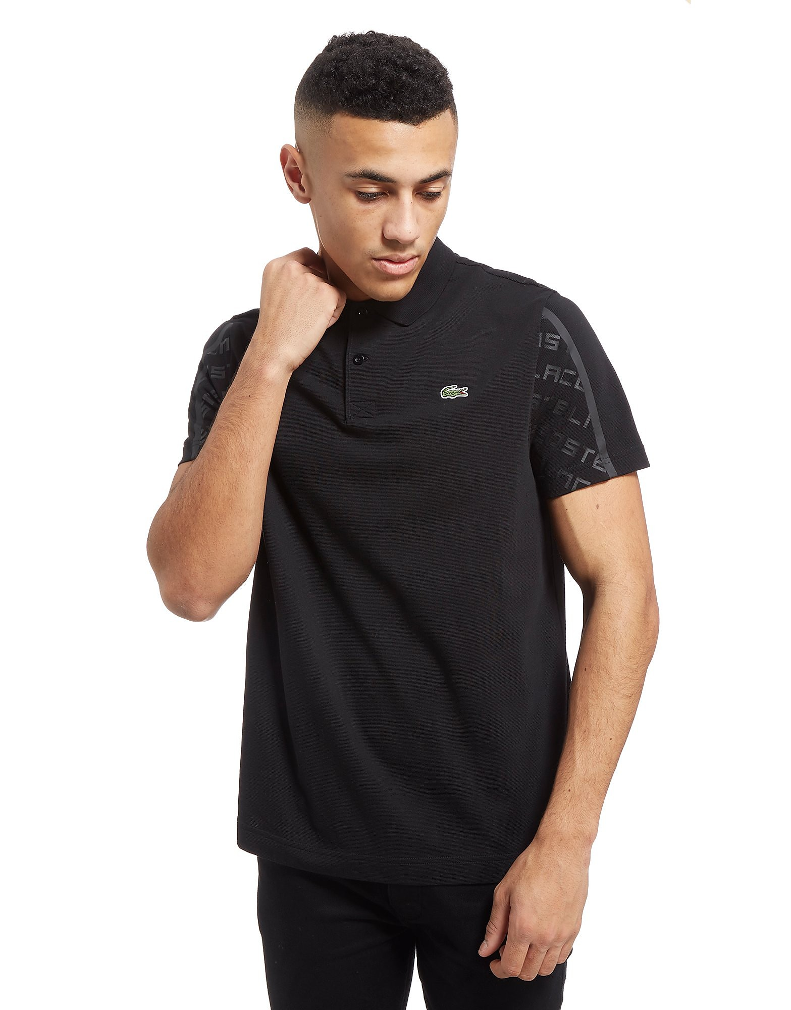 Lacoste Sleeve Print Polo Shirt