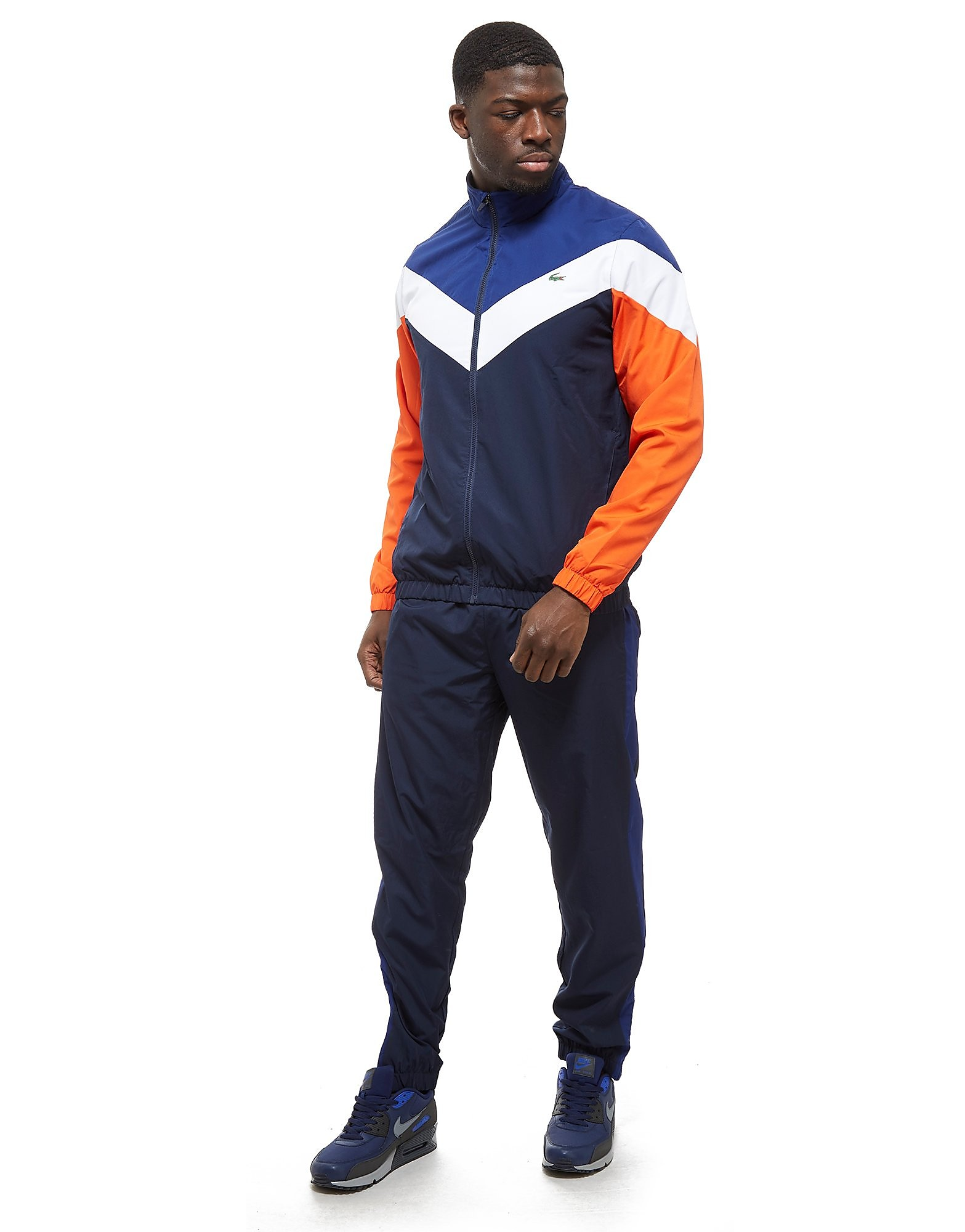 Lacoste Chevron Colourblock Tracksuit