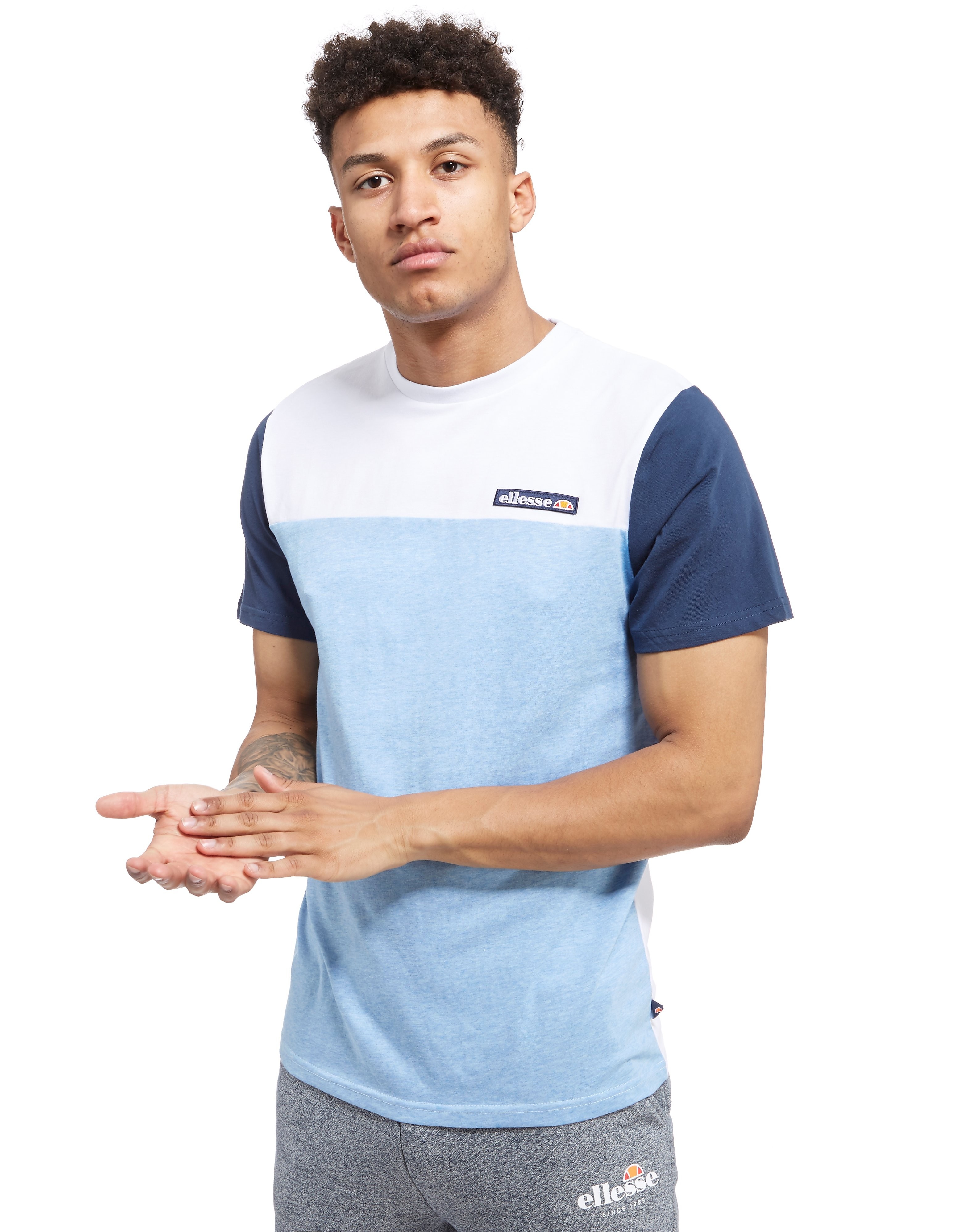 Ellesse Paltrio Colour Block T-Shirt