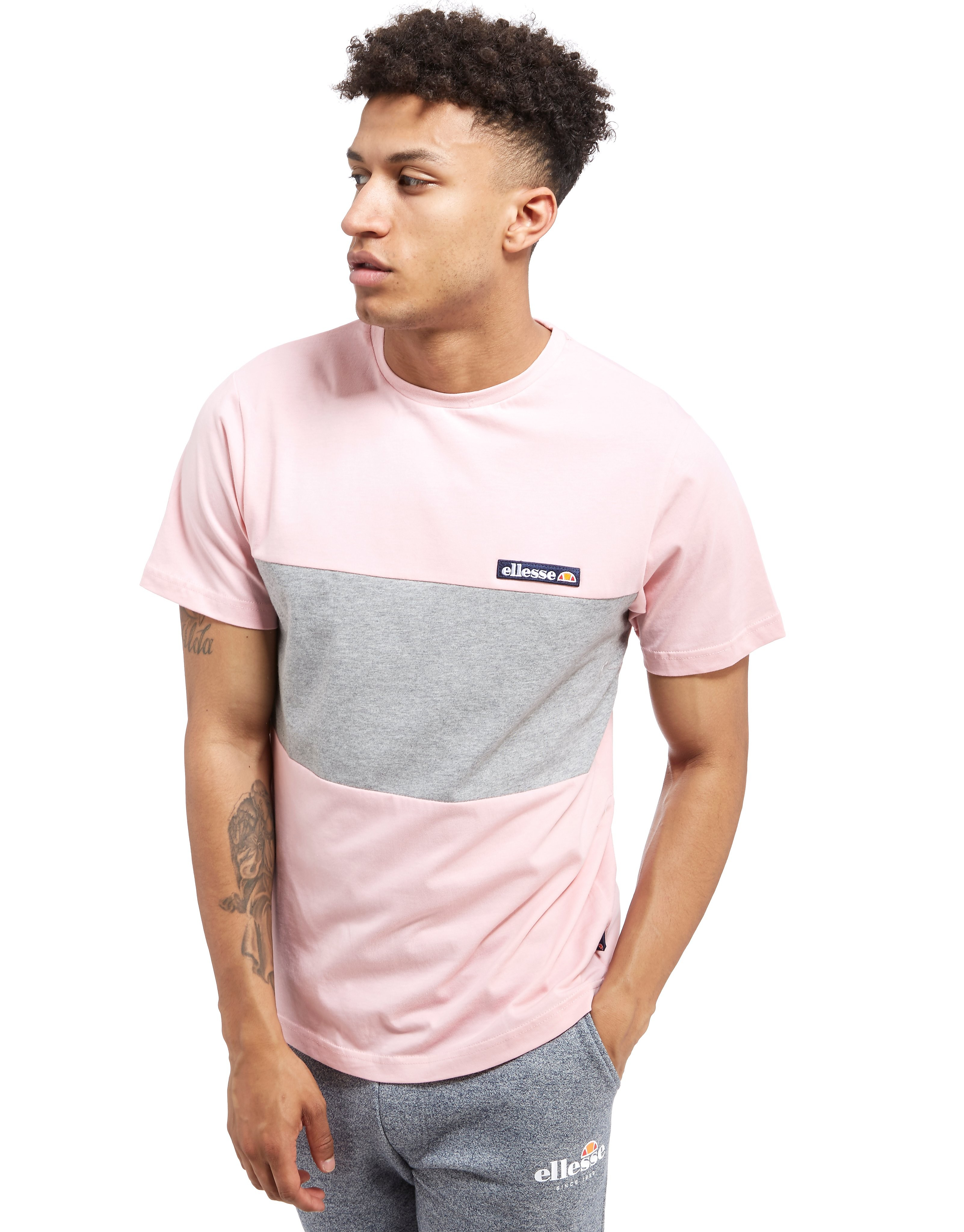 Ellesse Revelino Colour Block T-Shirt