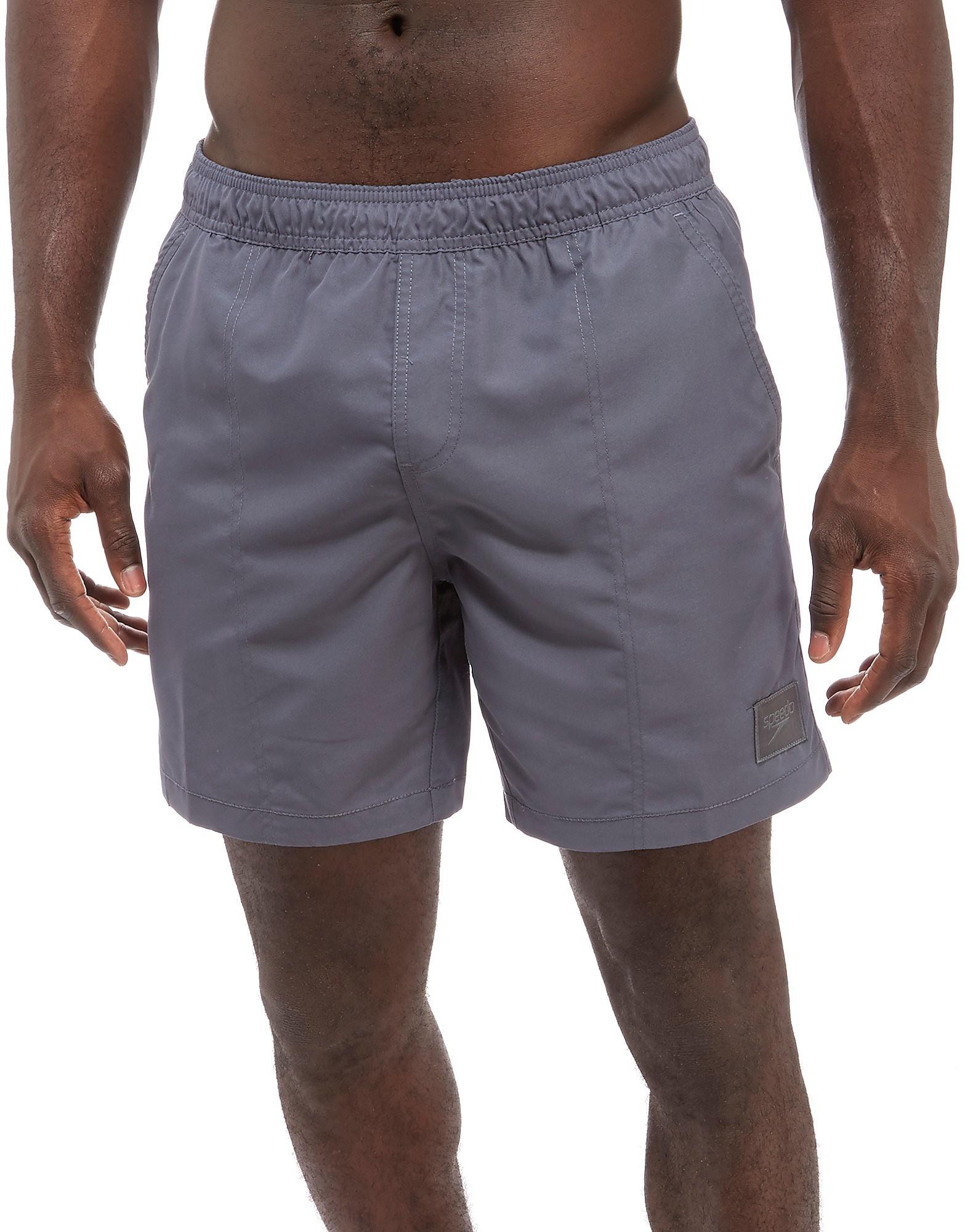 "Speedo Check Trim 16"" Swim Shorts"