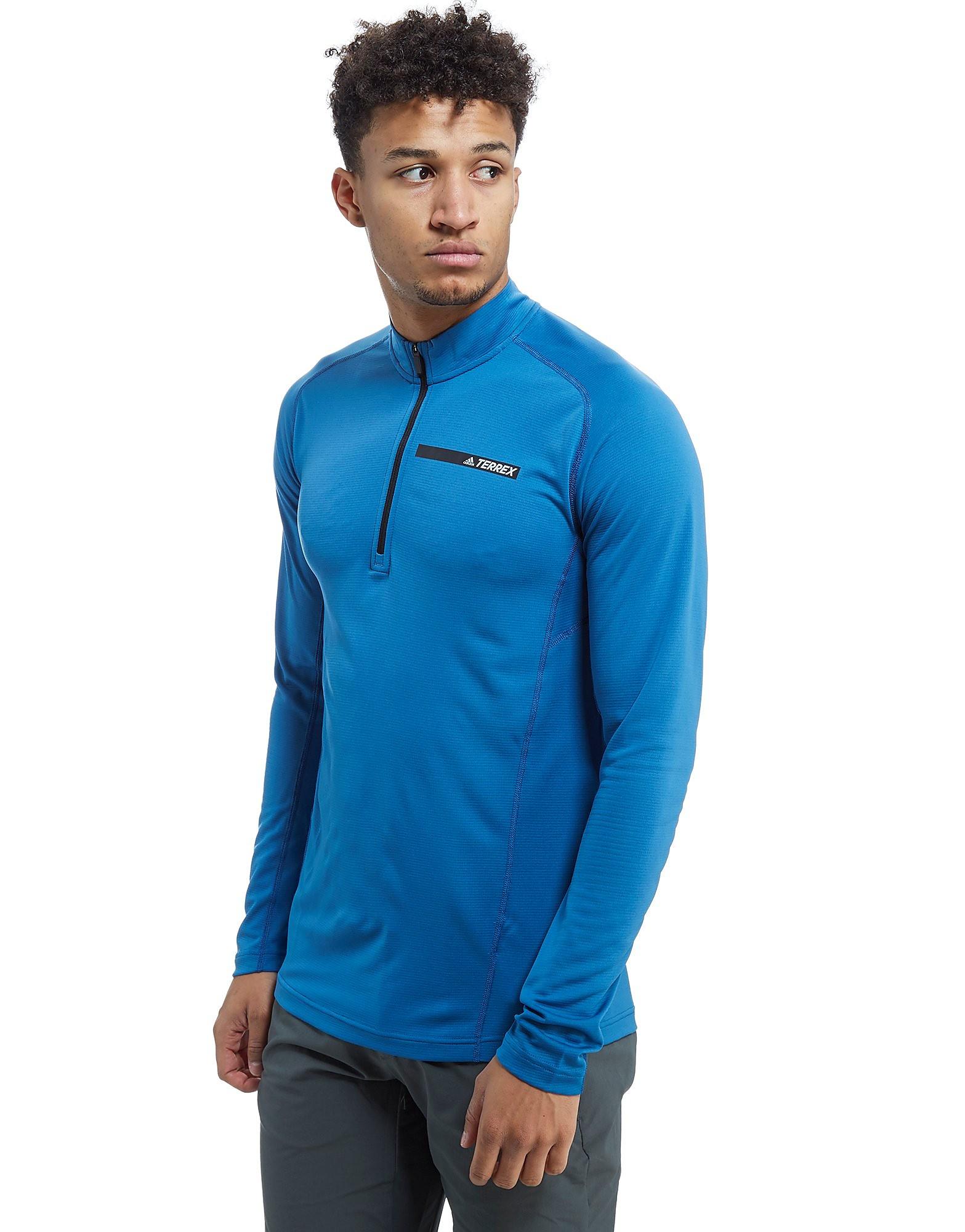 adidas Terrex Tracerocker 1/2 Zip Sweater Heren - Core Blue - Heren