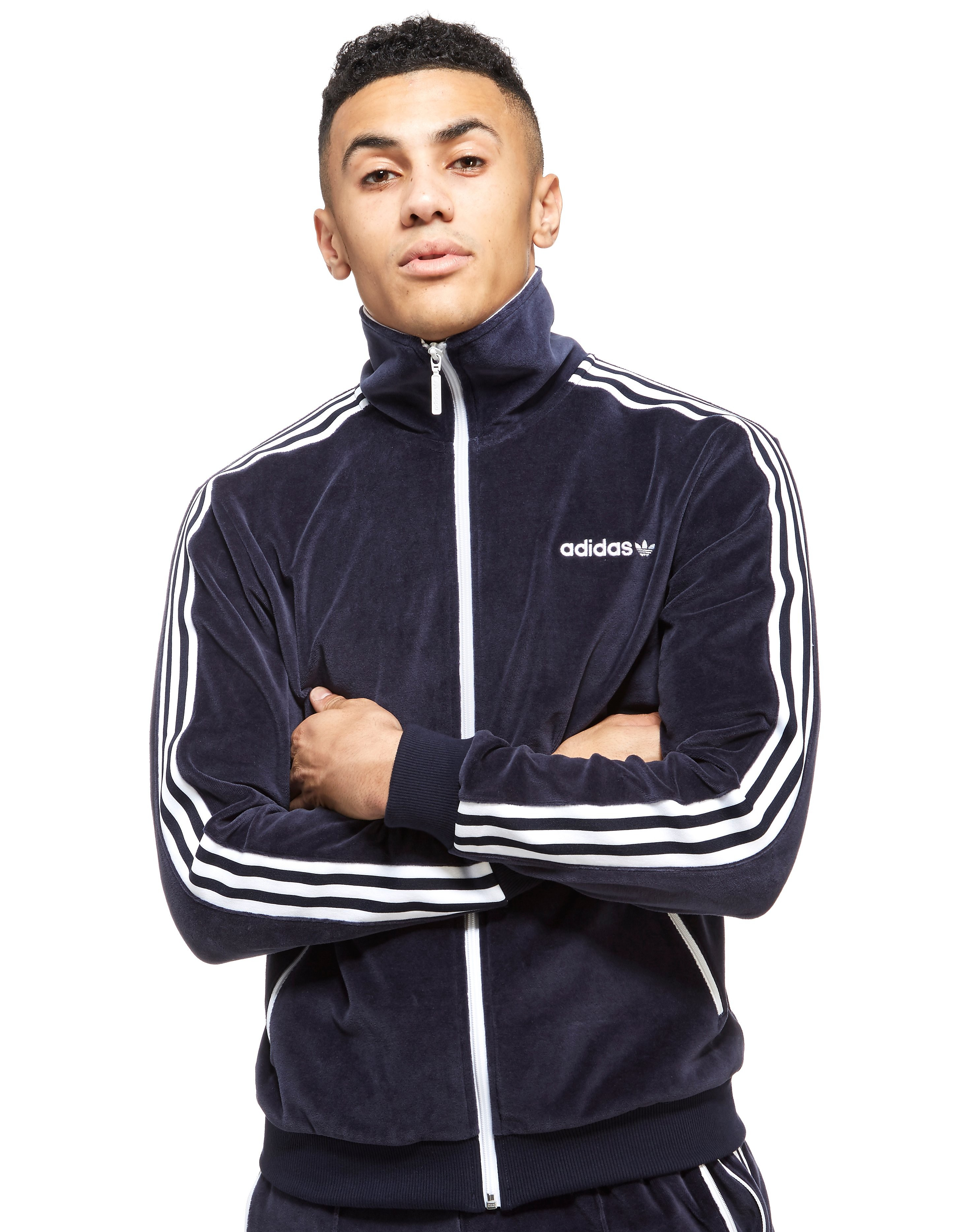 adidas Originals Velour Track Top