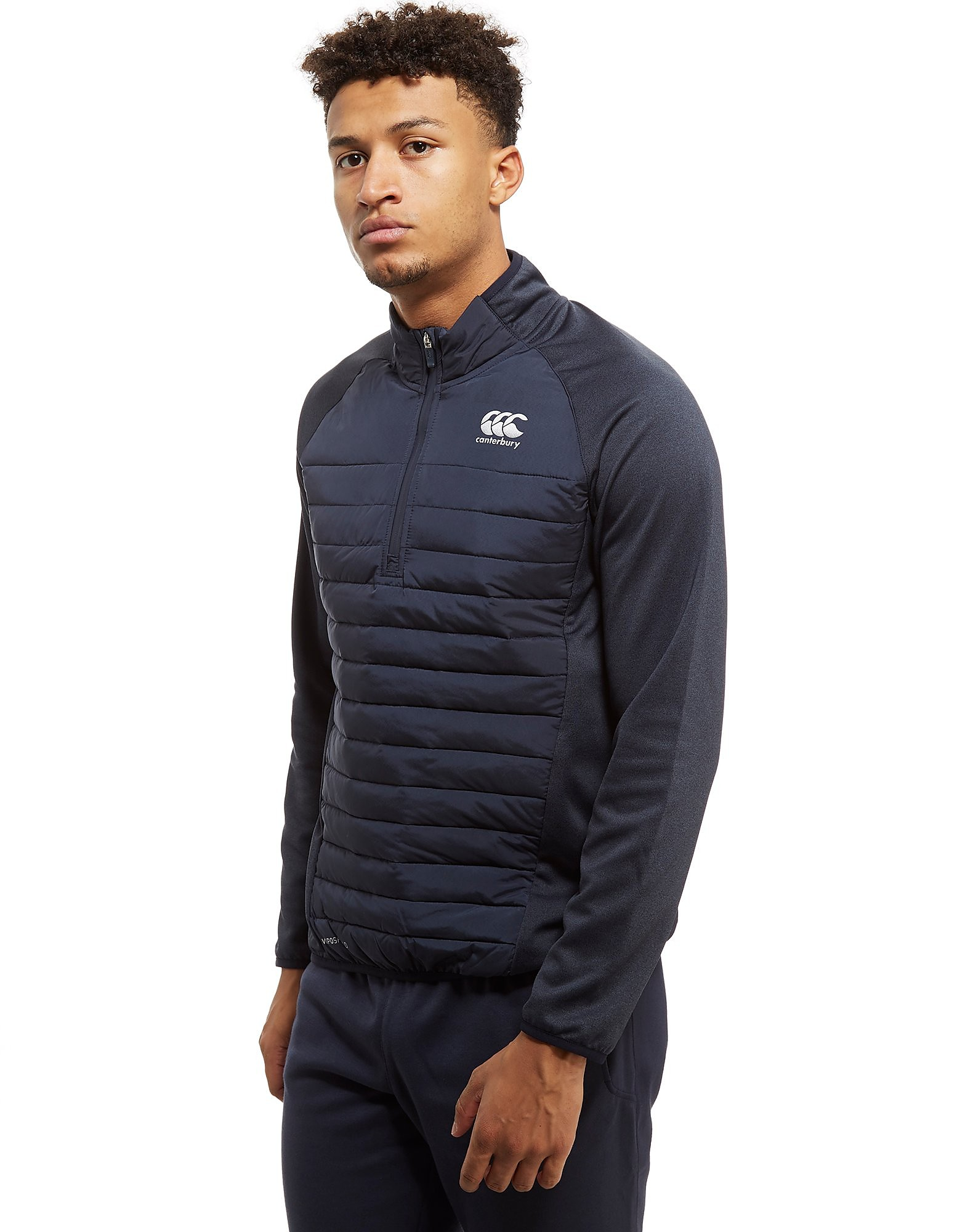 Canterbury VapoShield Hybrid Quarter Zip Top