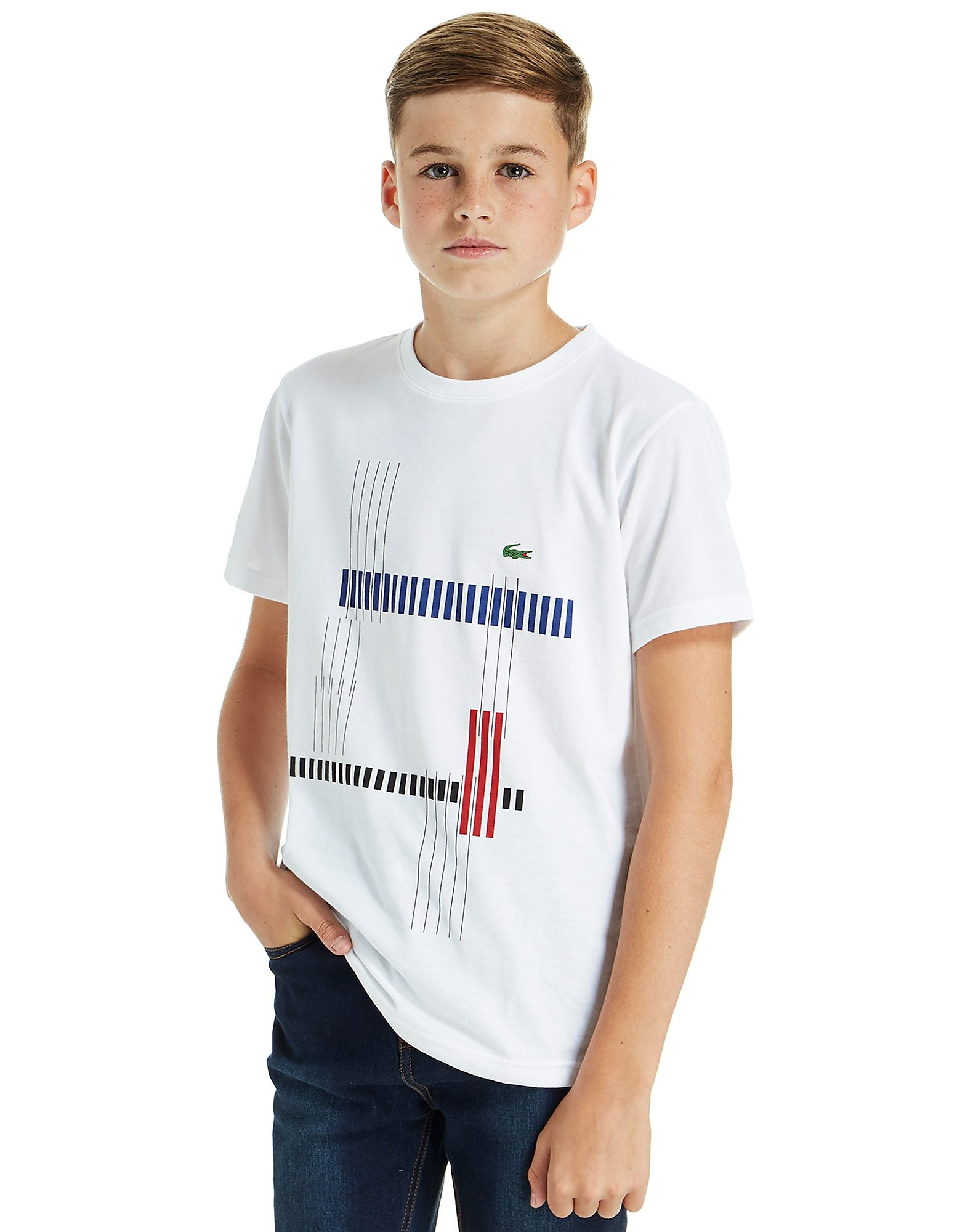 Lacoste Tennis Graphic Print T-Shirt Junior