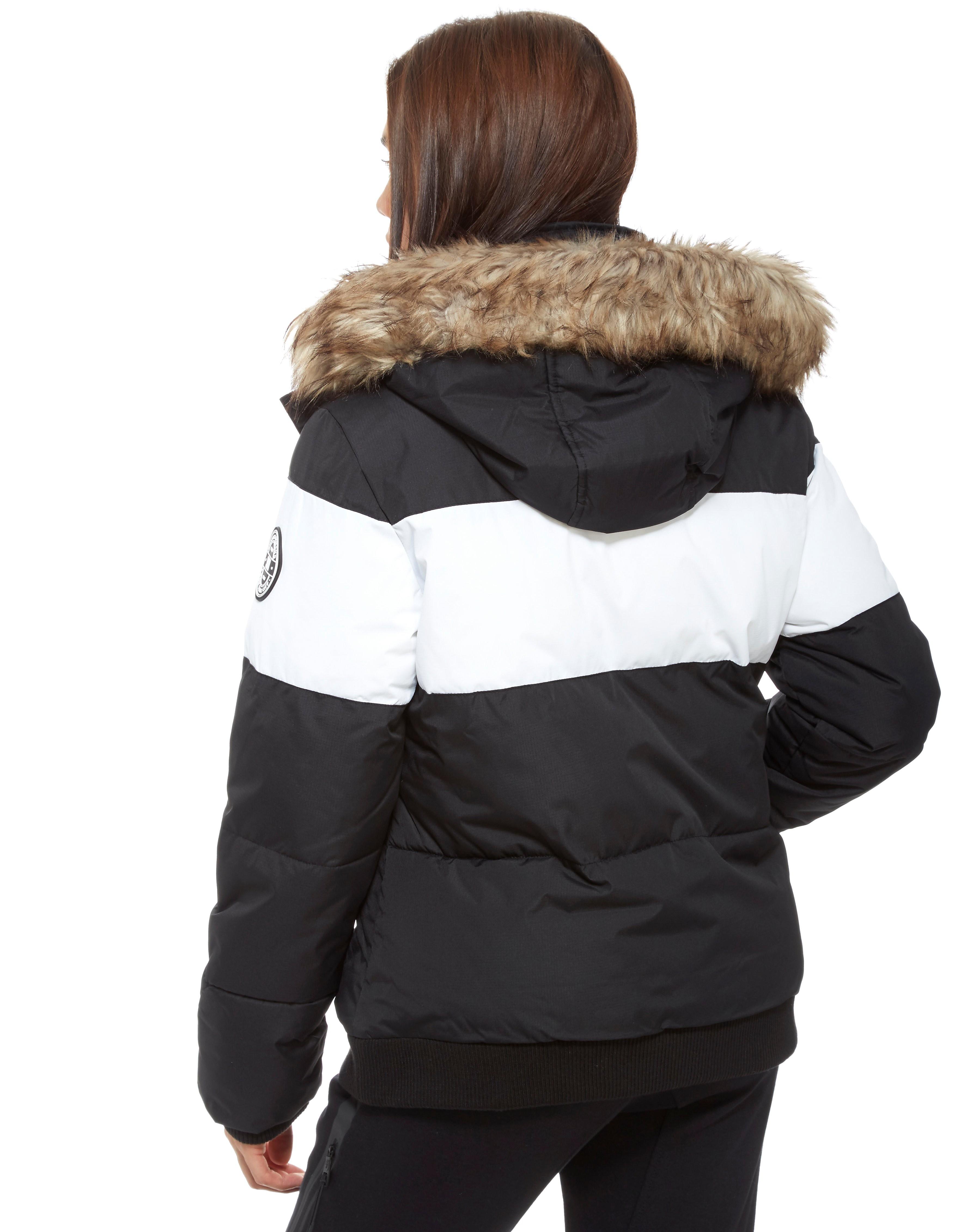 Supply & Demand Fur Trimmed Parka
