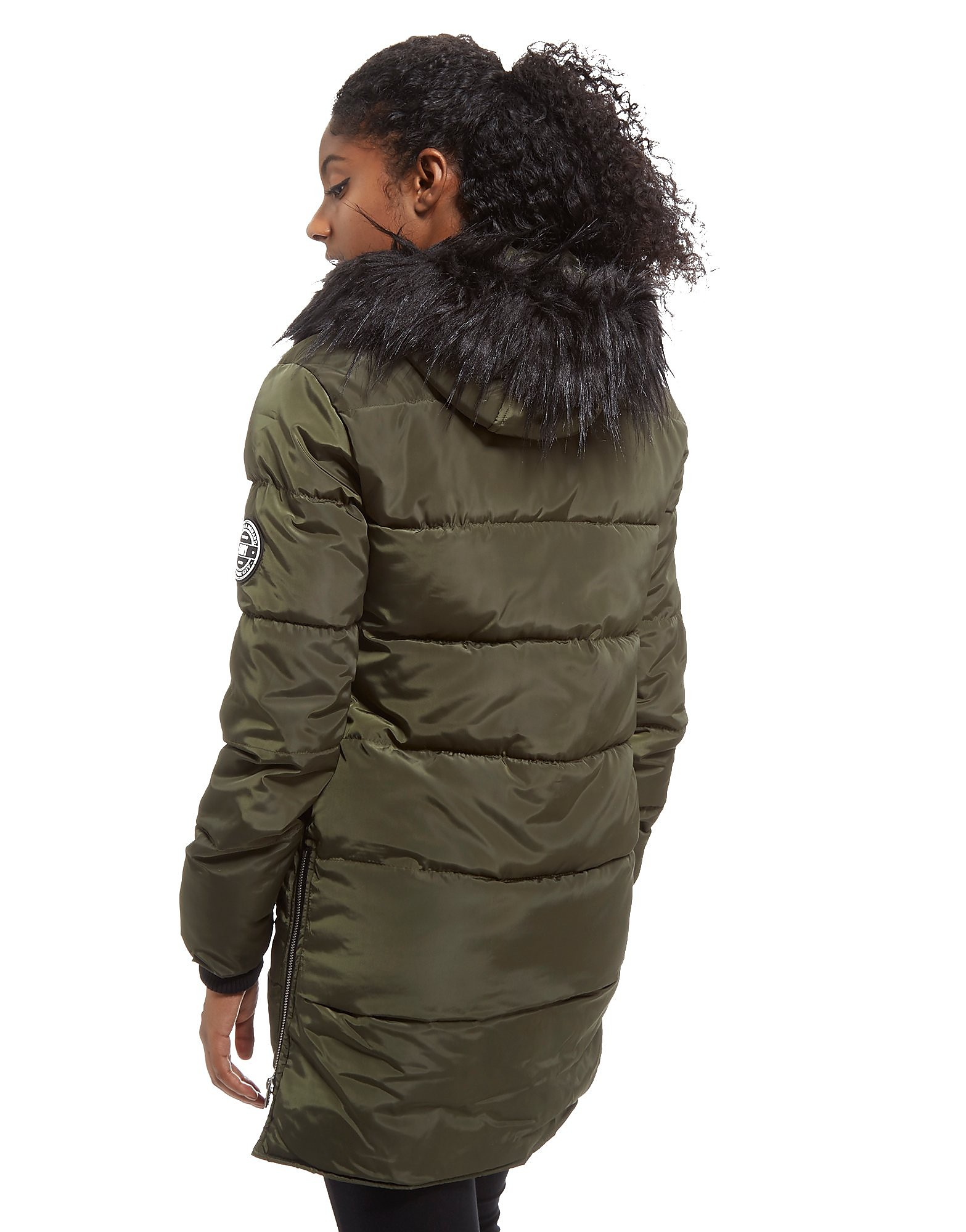 Supply & Demand Longline Parka Jacket Dames