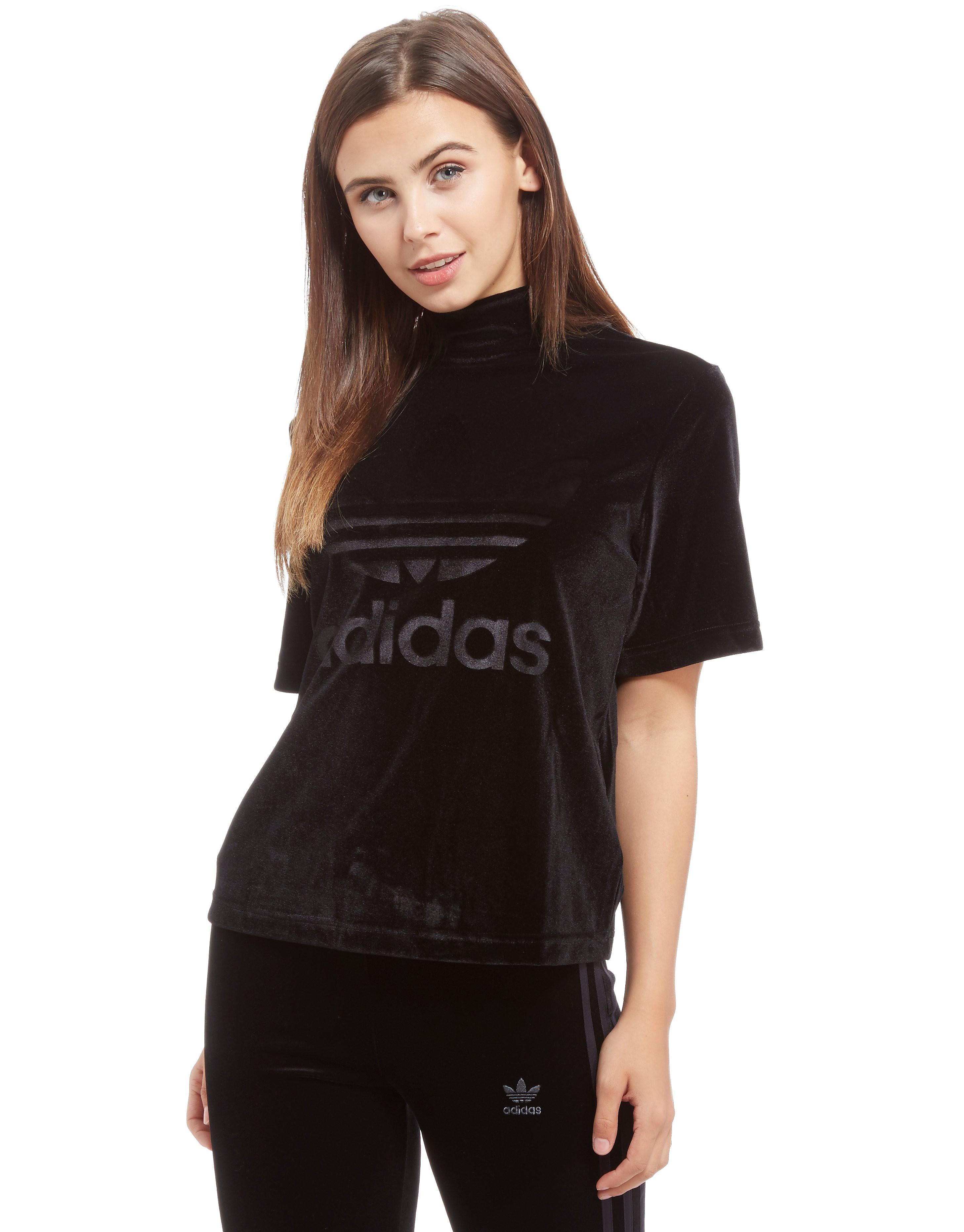 adidas Originals Velvet High Neck T-Shirt