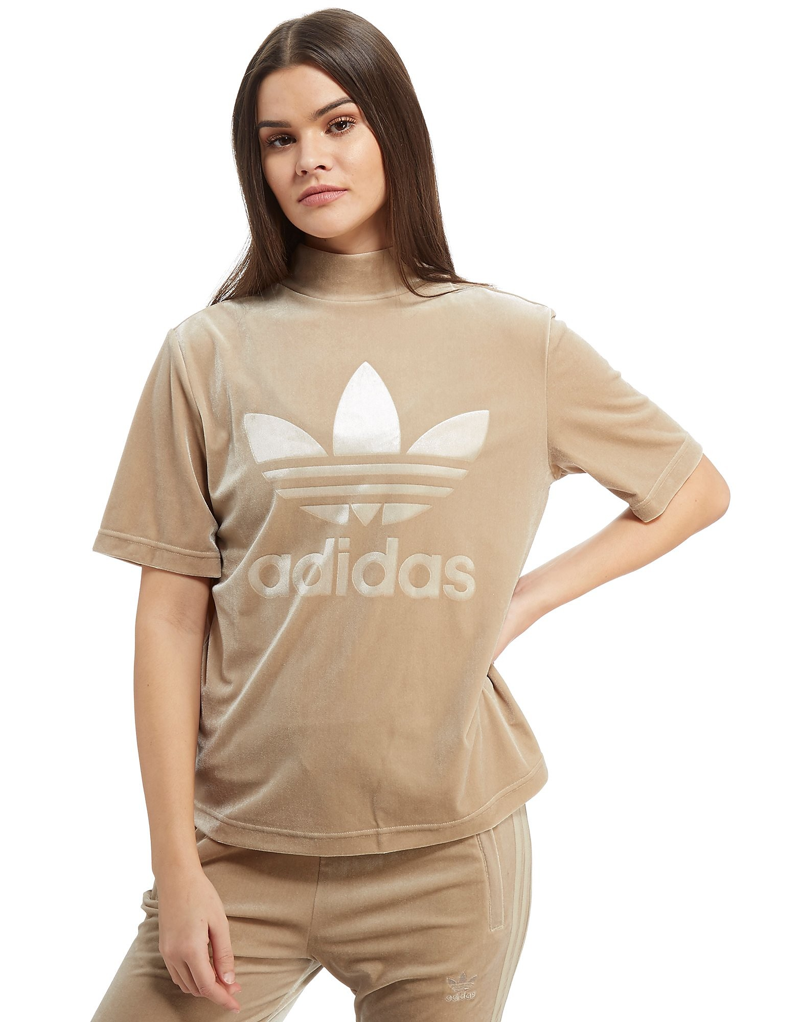 adidas Originals Velvet High Neck T-Shirt
