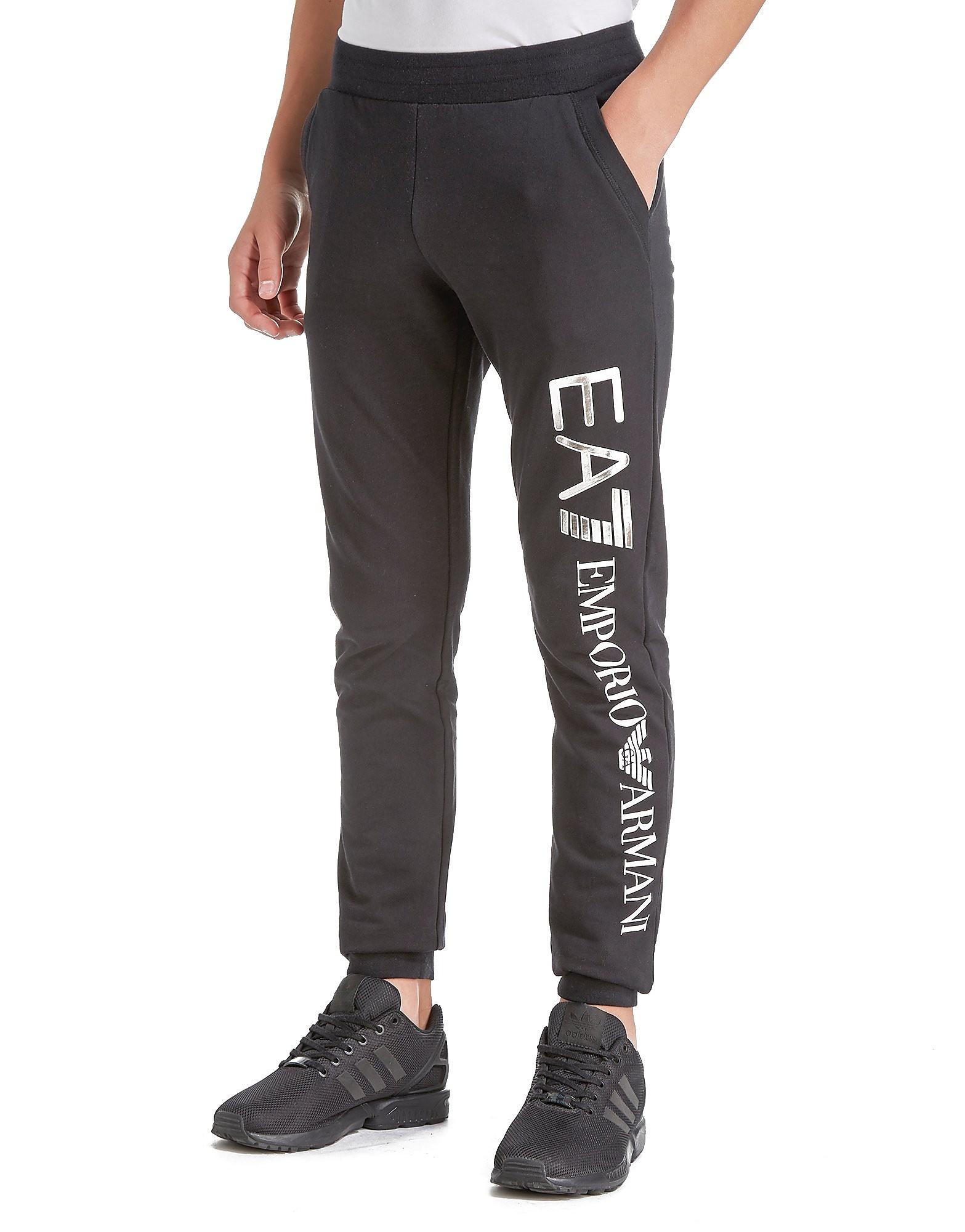 Emporio Armani EA7 Foil Logo Cuff Pants Junior