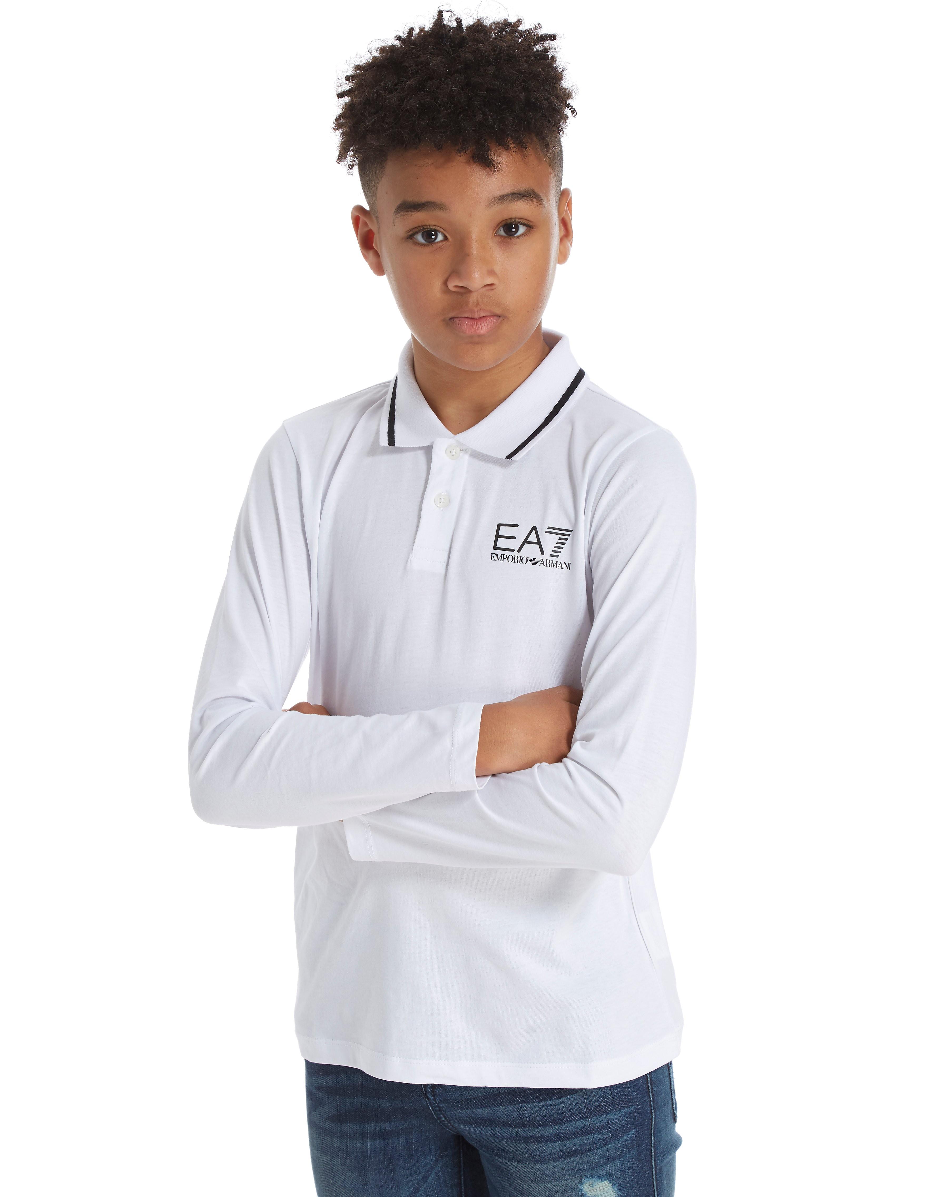 Emporio Armani EA7 Langarm Jersey Polo Shirt Junior