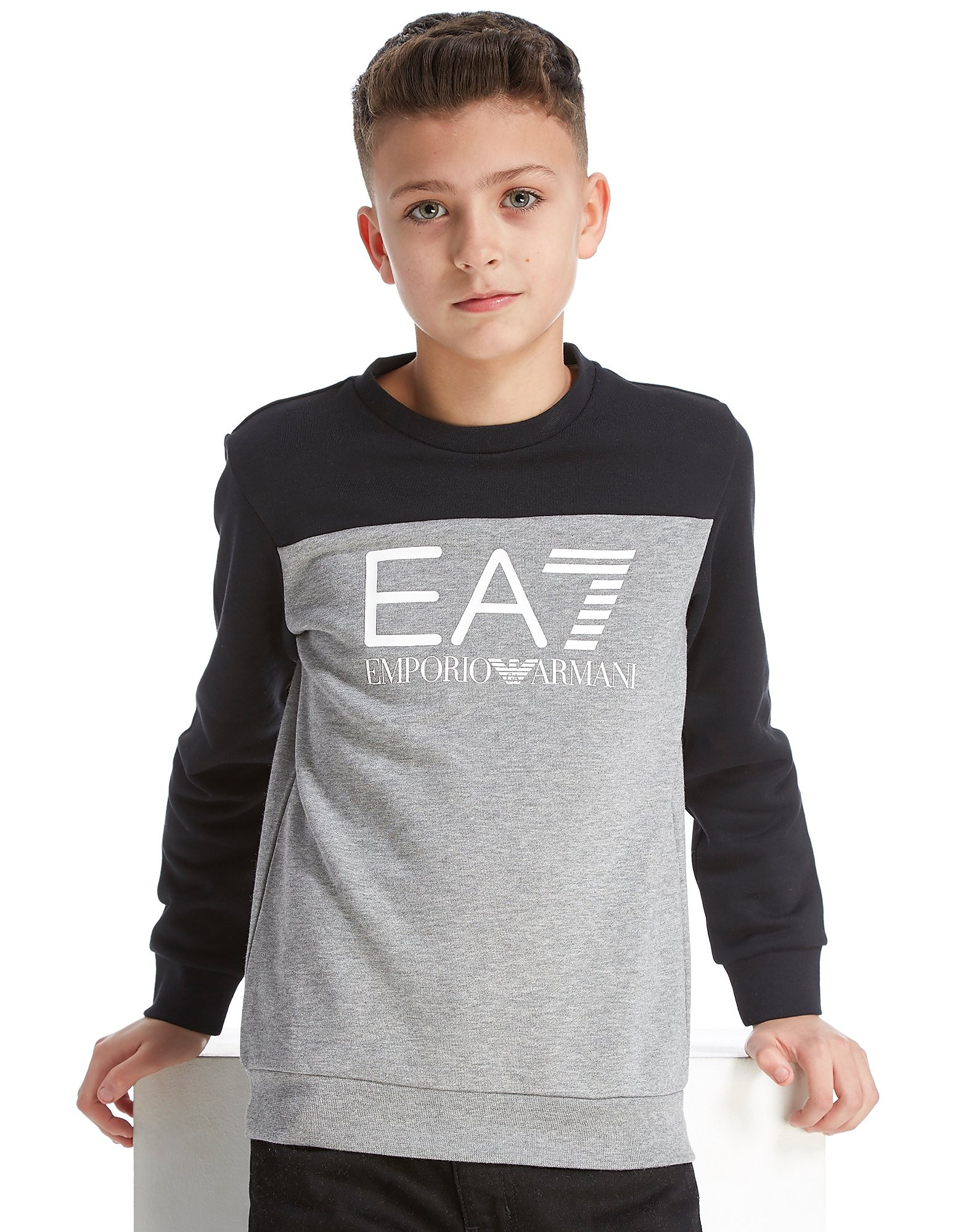 Emporio Armani EA7 Train Colourblock Crew Sweatshirt Junior