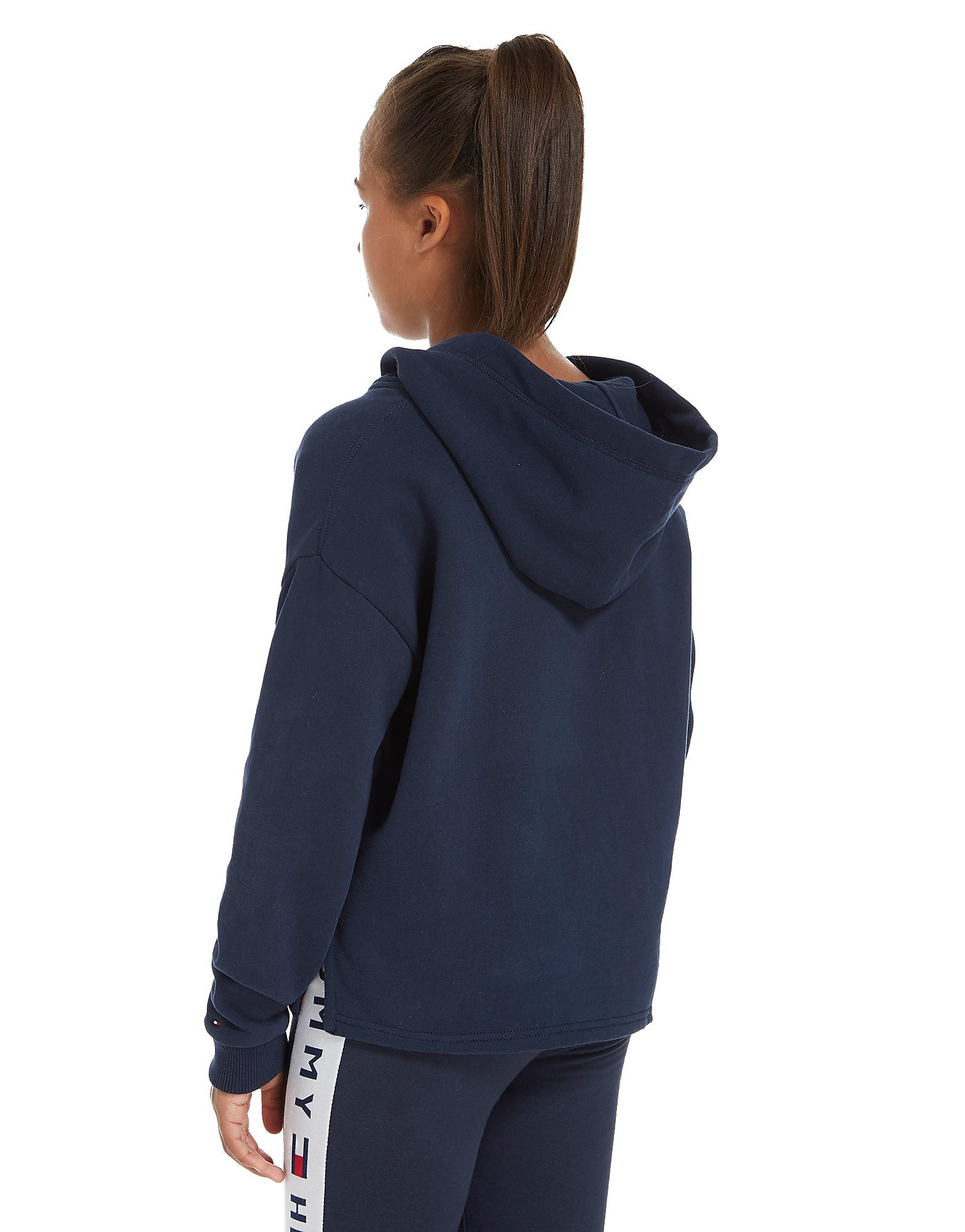 Tommy Hilfiger Girls' Flag Cropped Hoodie Junior