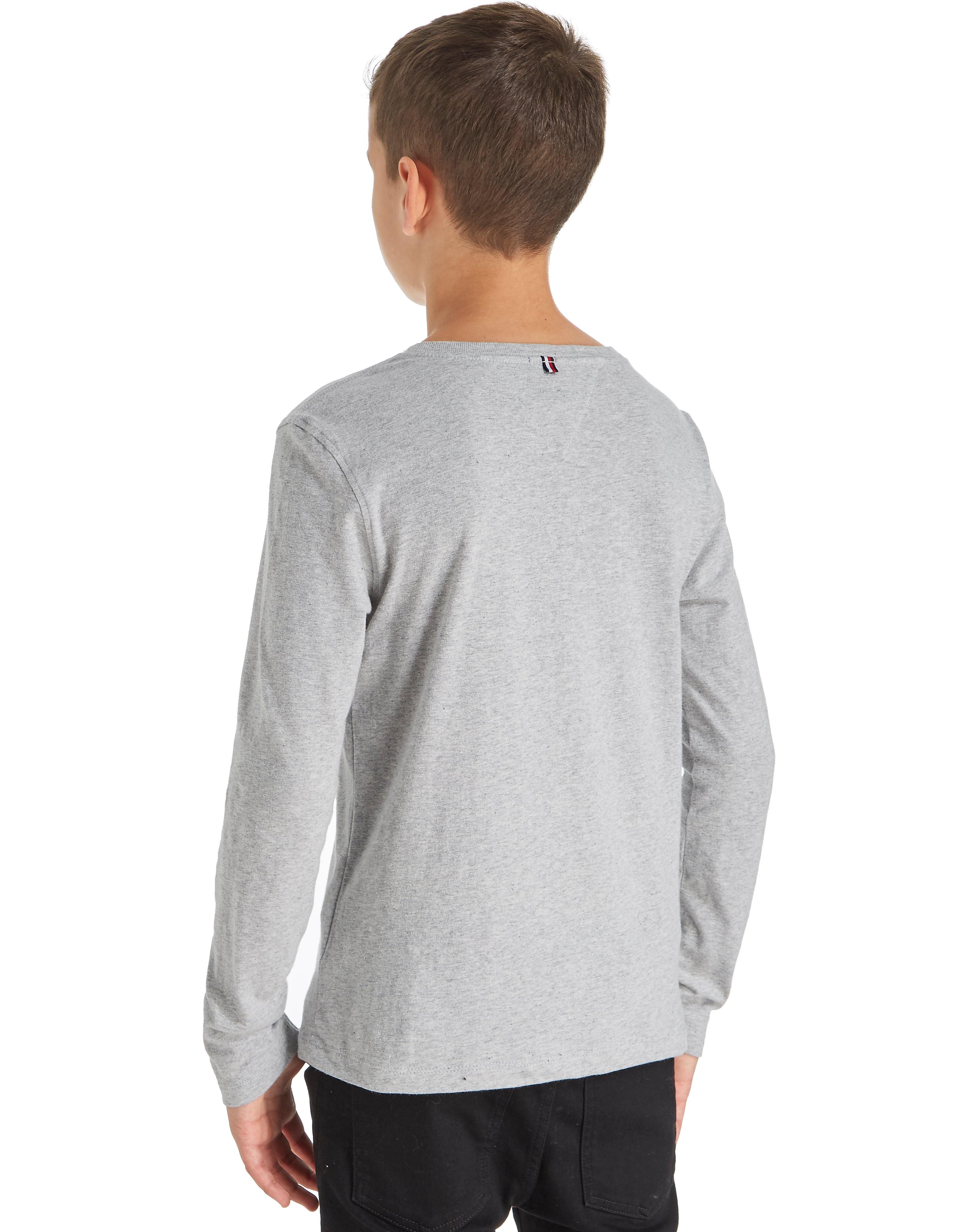Tommy Hilfiger Long Sleeve Flag T-Shirt Junior