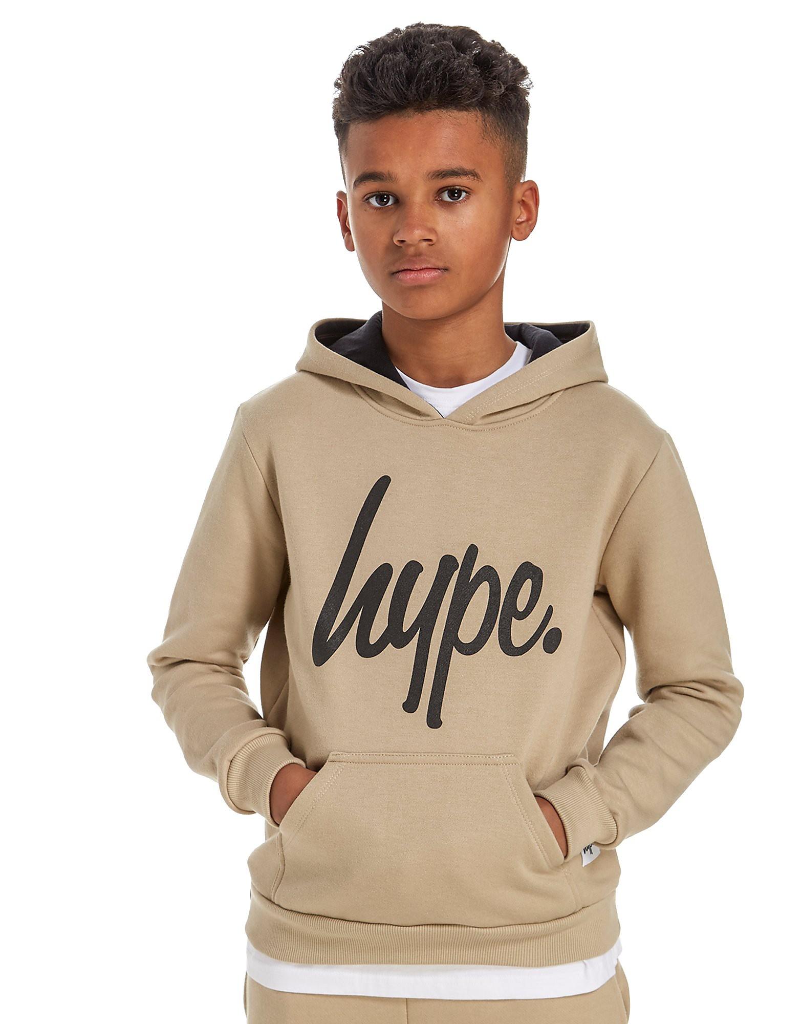 Hype Script Overhead Hoody Junior