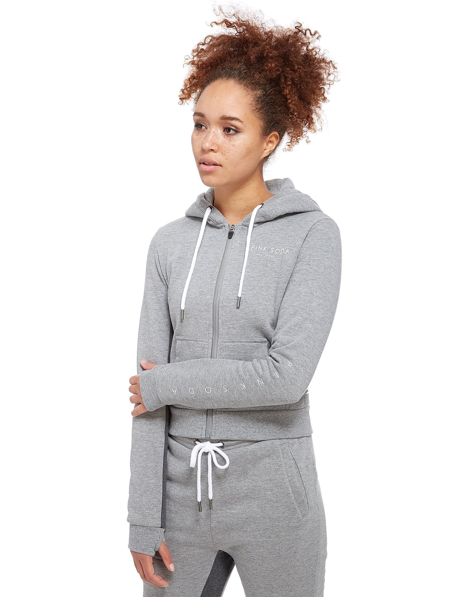 Pink Soda Sport Grindle Full-Zip Hoody