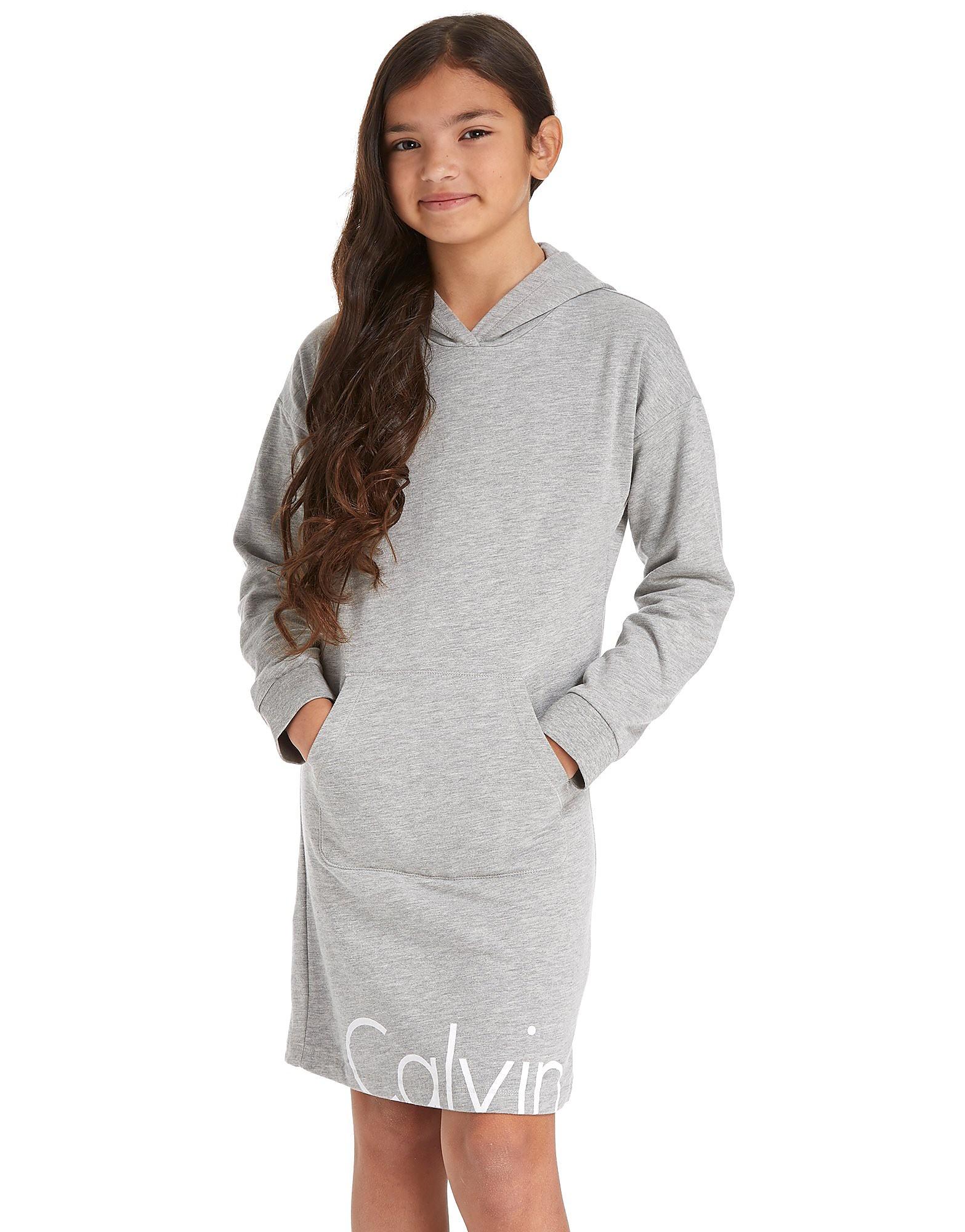 Calvin Klein Girls' Hooded Dress Junior