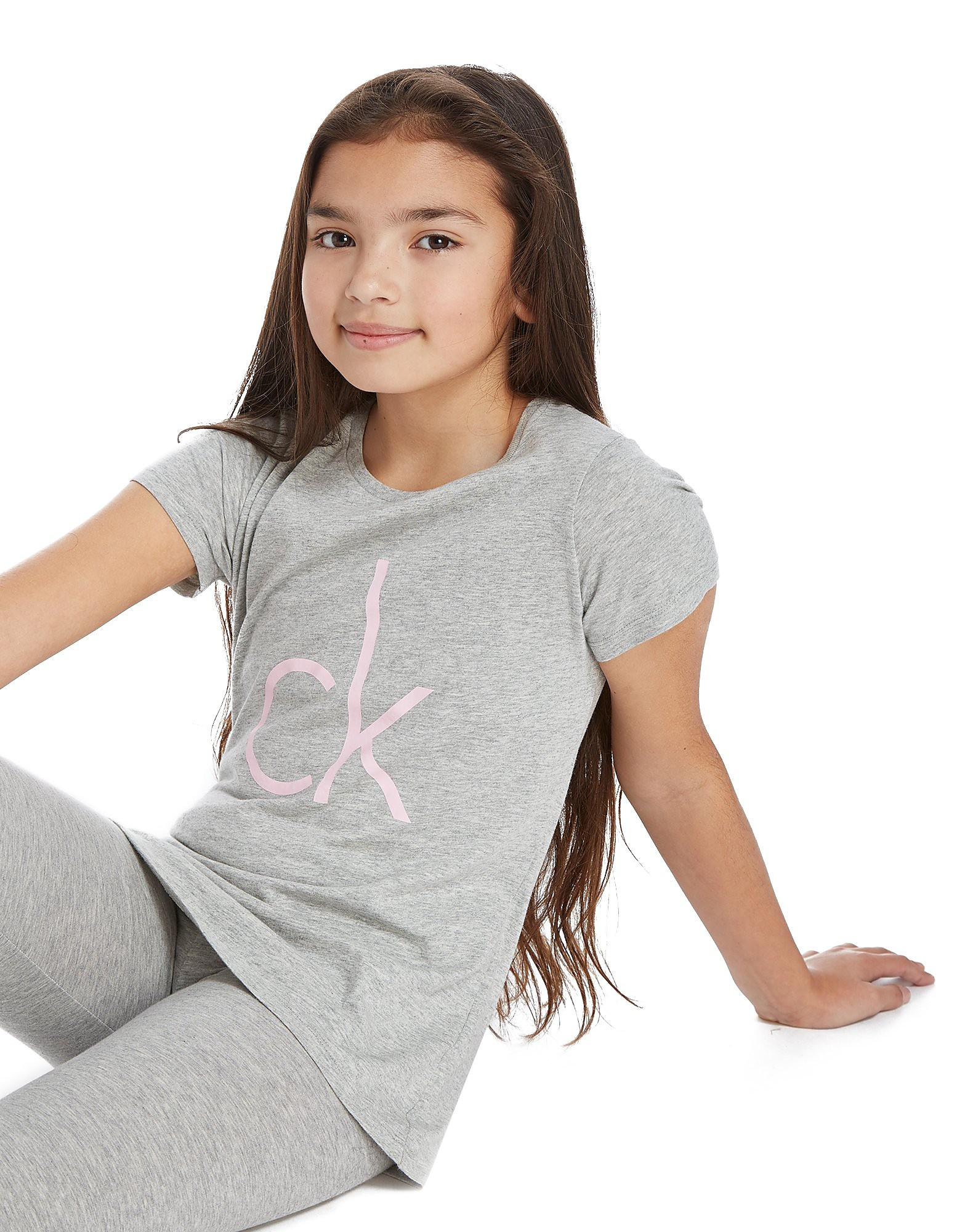 Calvin Klein Girls' 2 Pack Modern Cotton T-Shirts Junior