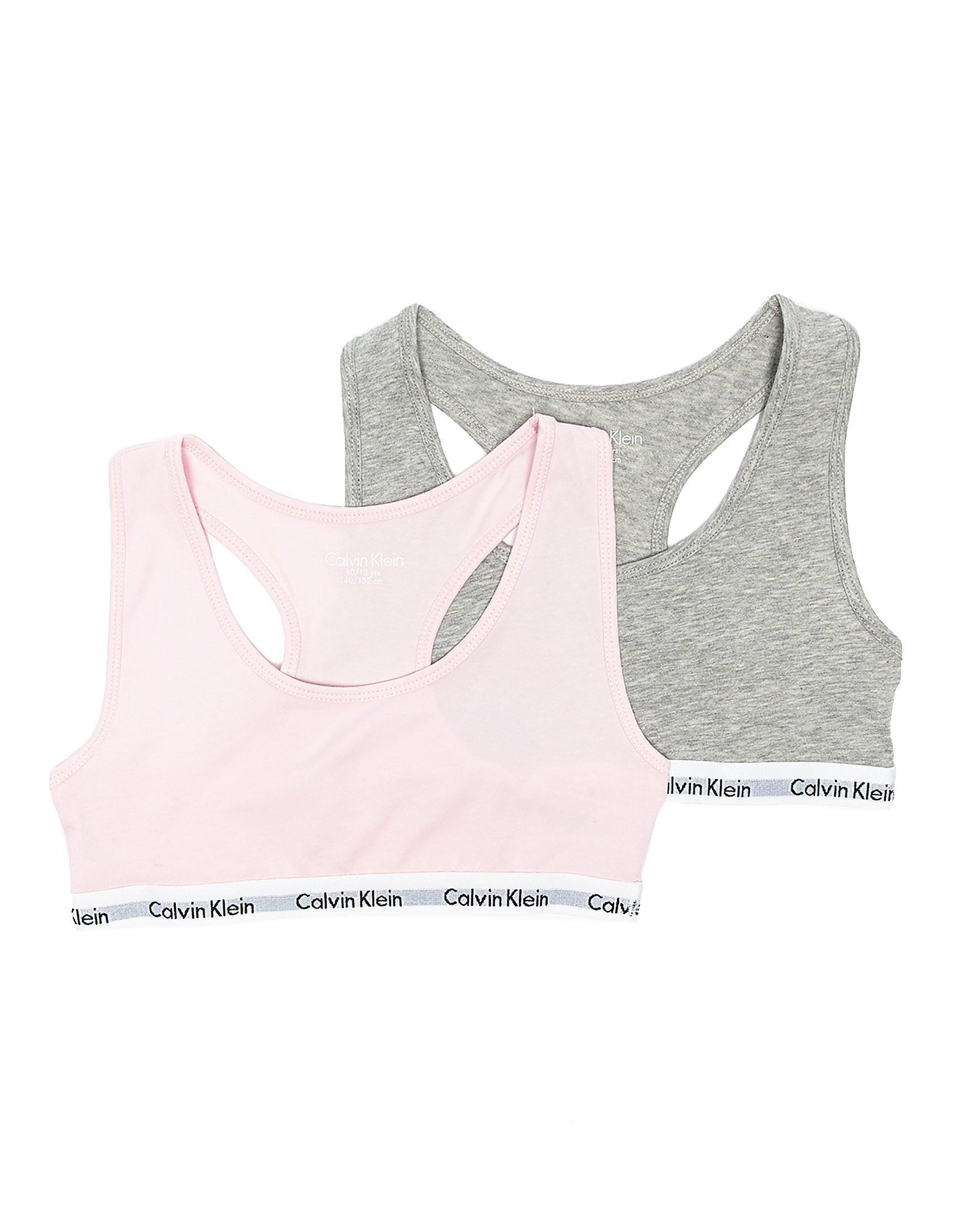 Calvin Klein Girls' Crop Top (2 Pack) Junior