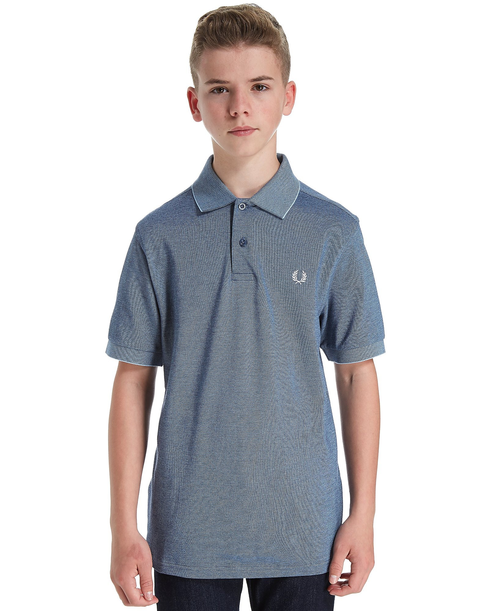 Fred Perry Oxford Pique Polo Shirt Junior