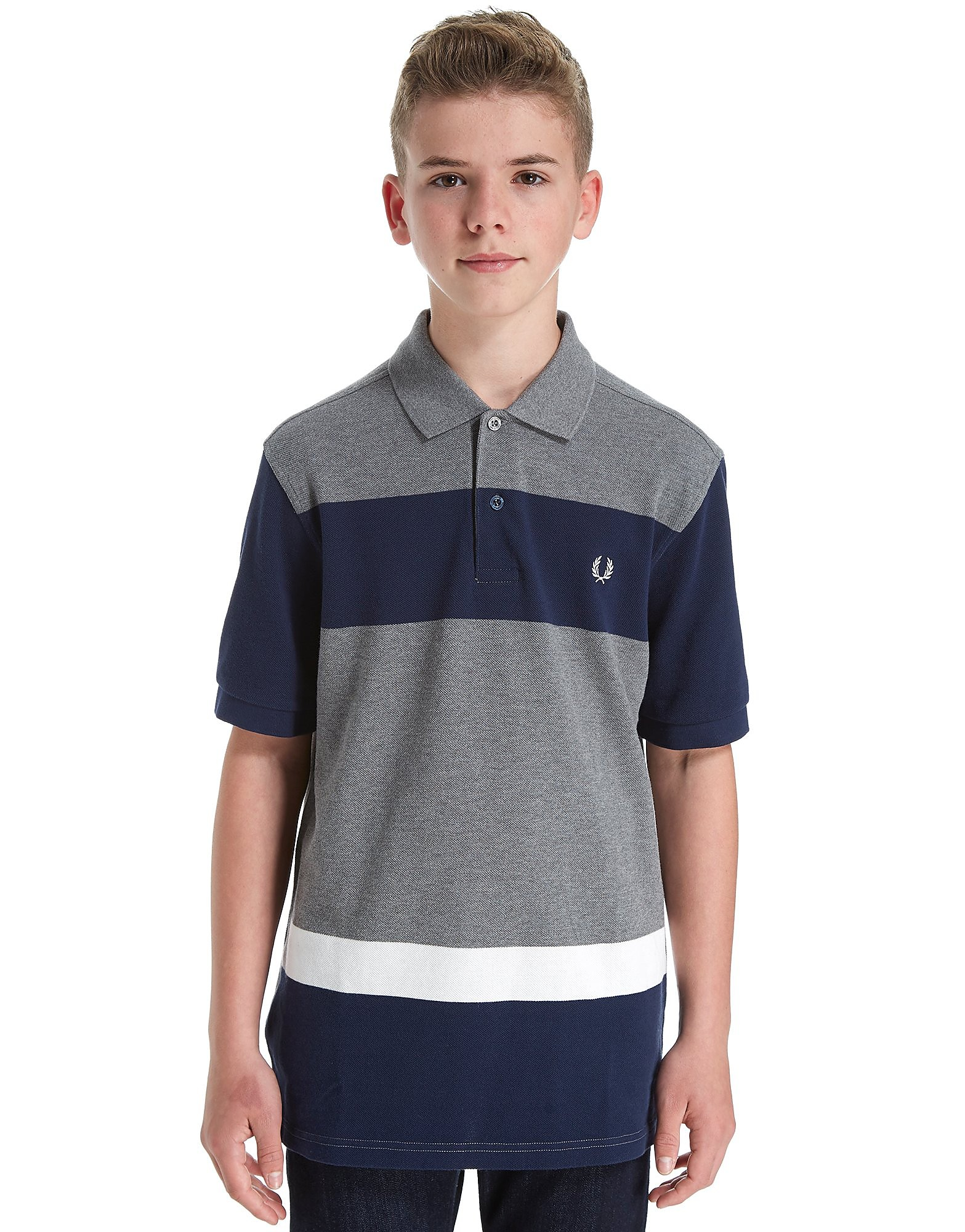 Fred Perry Colour Block Polo Shirt Junior