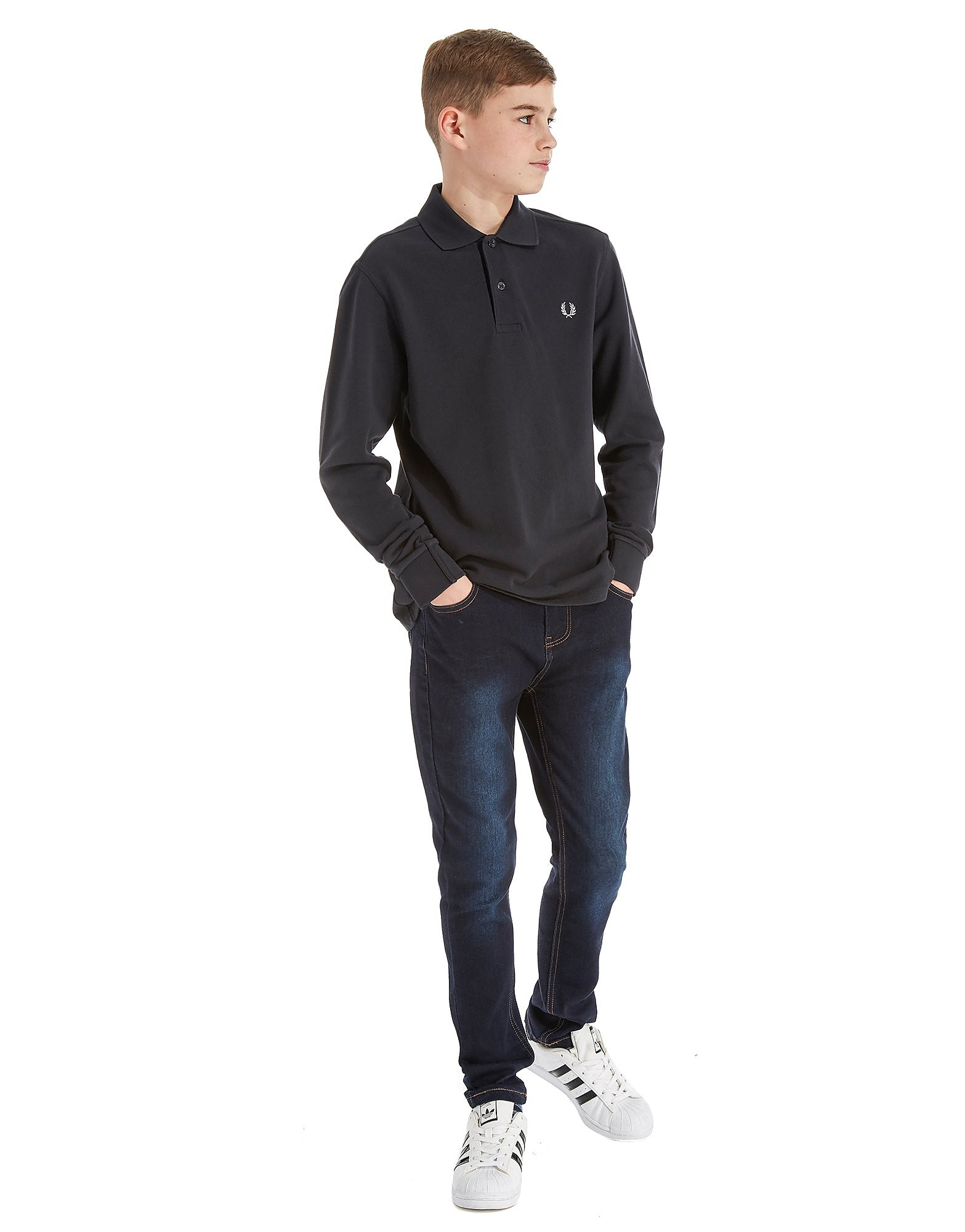 Fred Perry Long Sleeve Polo Junior