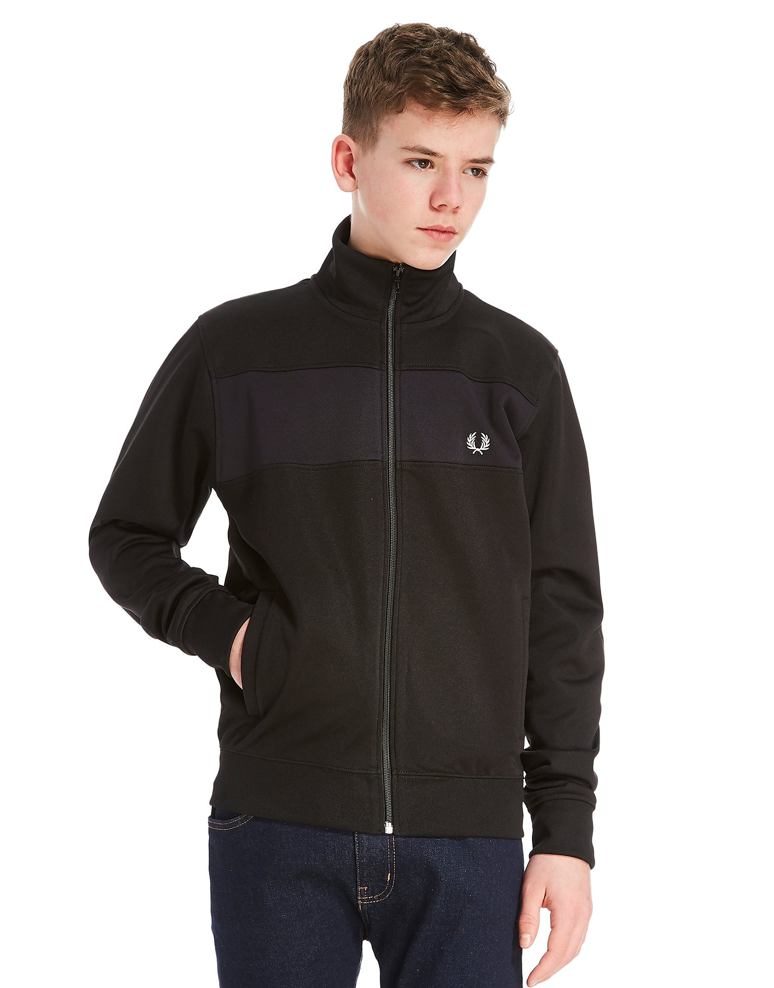 Fred Perry Panel Track Top Junior