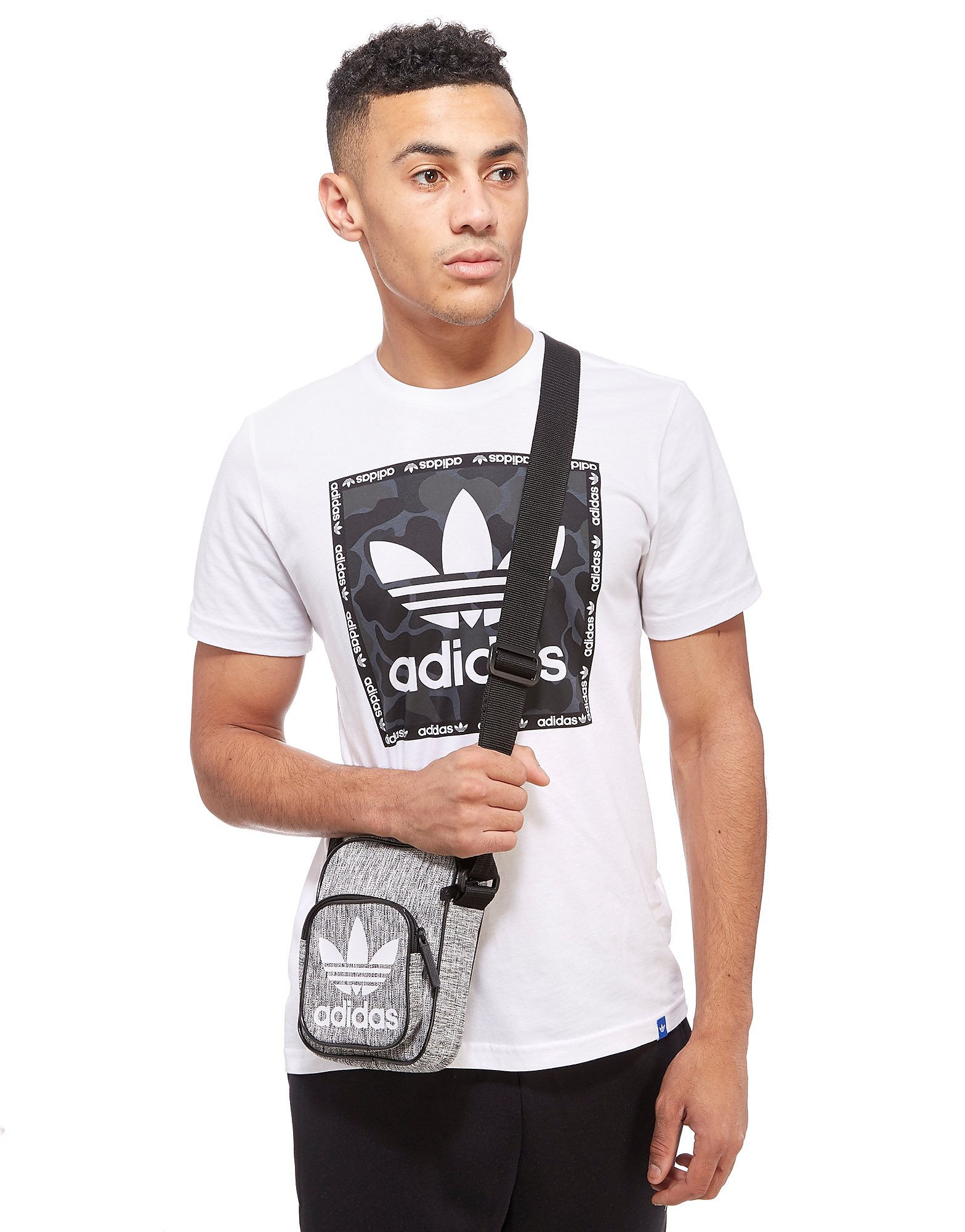 adidas Originals mochila pequeña Mini Melange Small Items