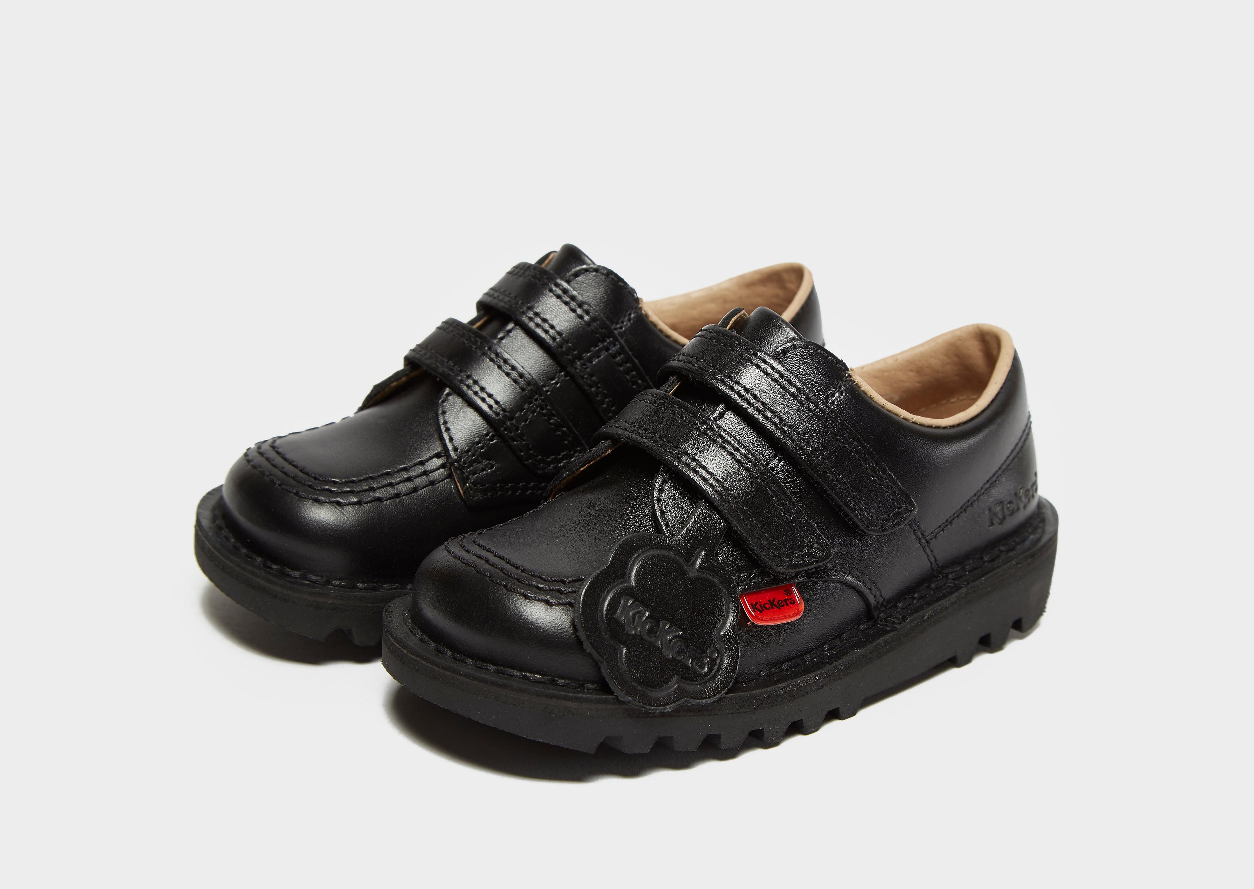 Kickers Kick Lo Vel School Shoes Infant