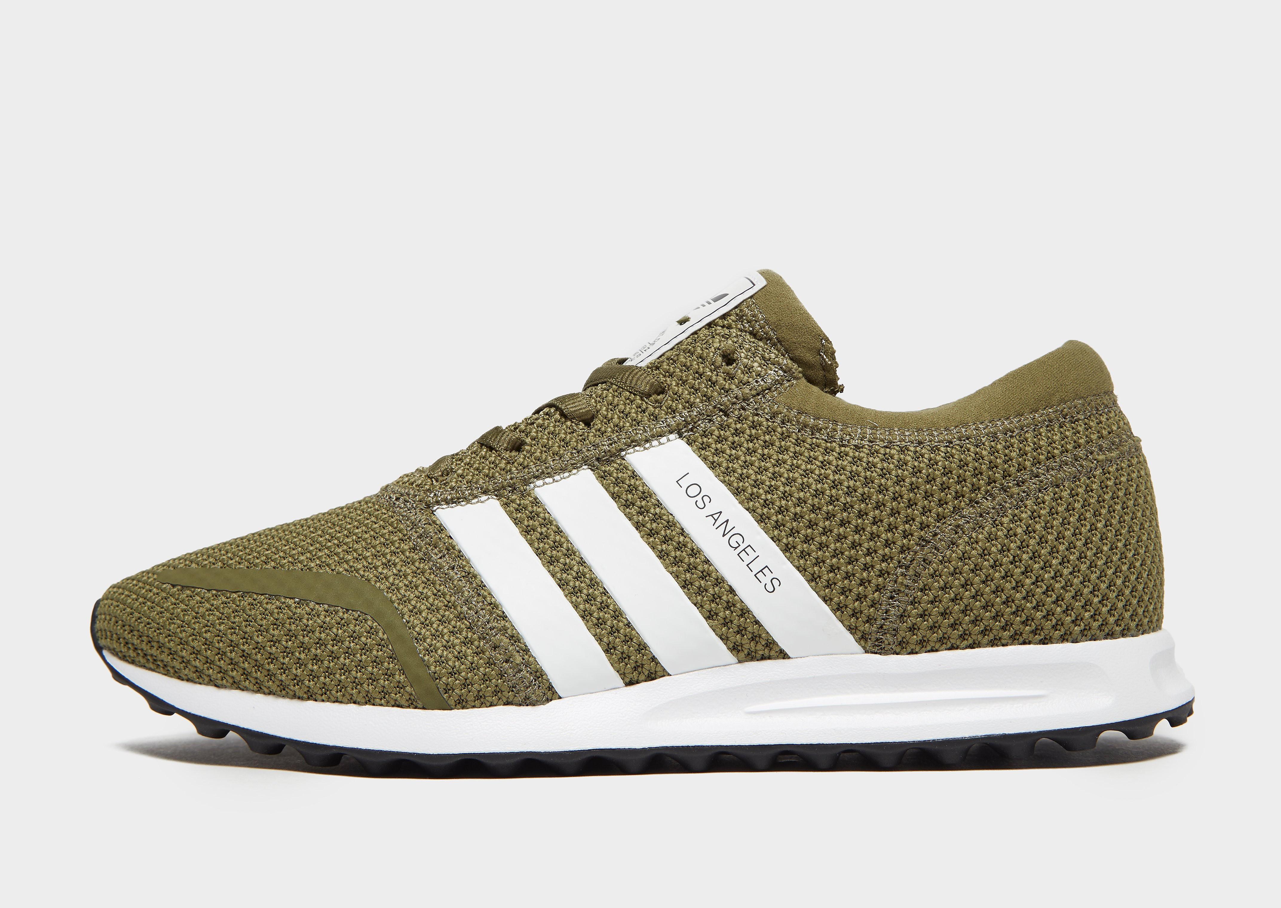 a537d7cd84d Adidas Los Angeles herensneaker wit en groen