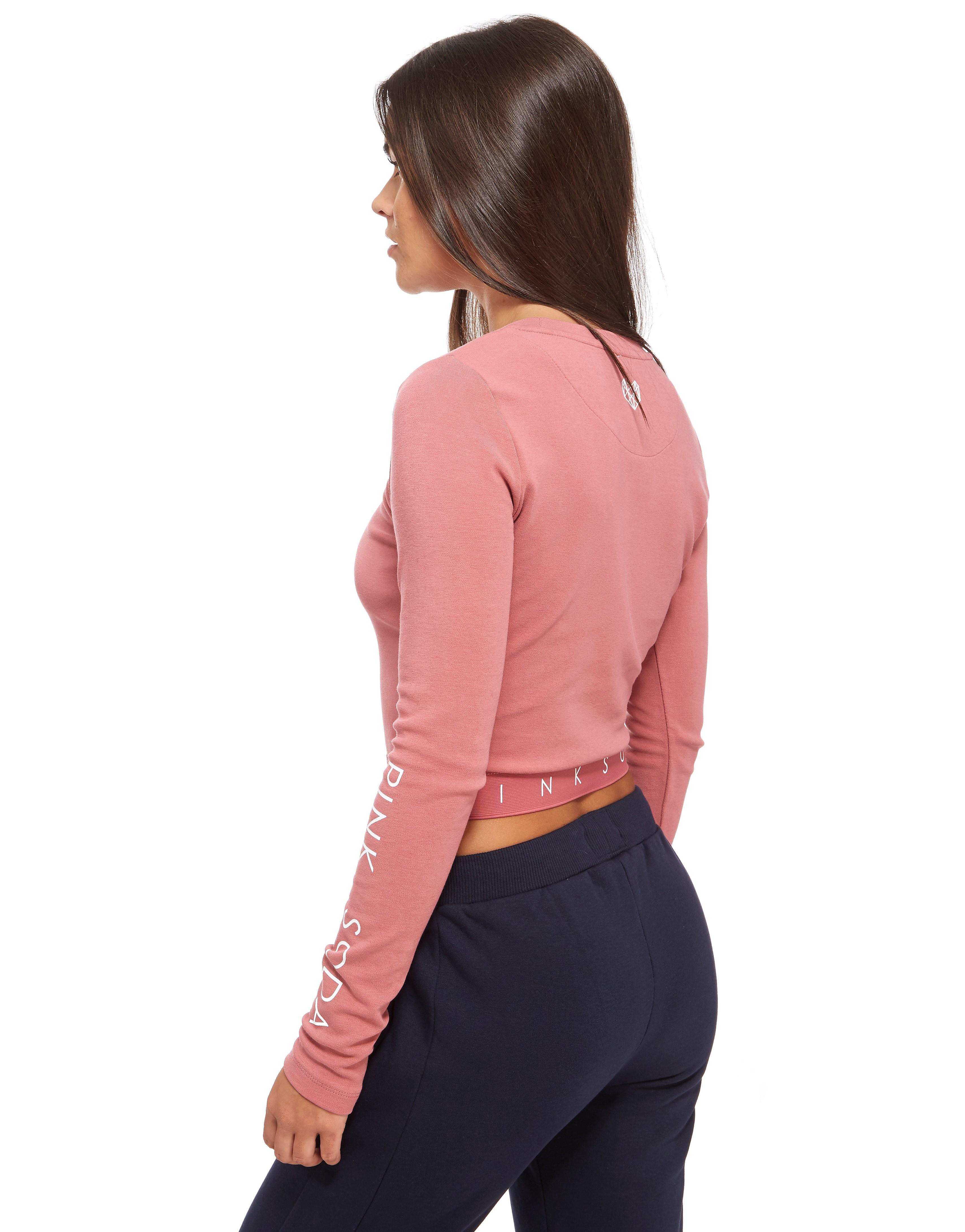 Pink Soda Sport Rose Long-sleeved T-shirt