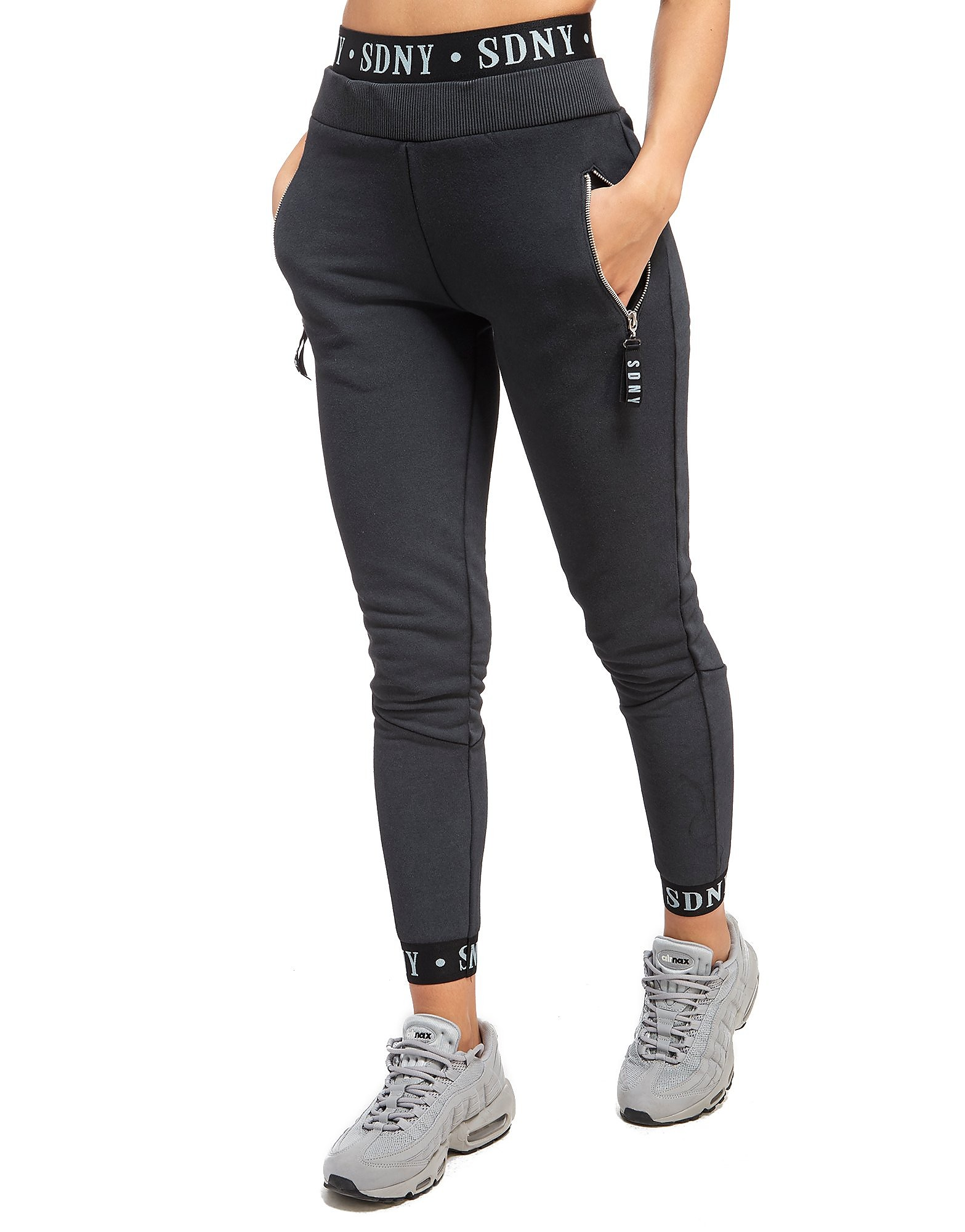Supply & Demand Pantalon de survêtement Rib Logo Femme
