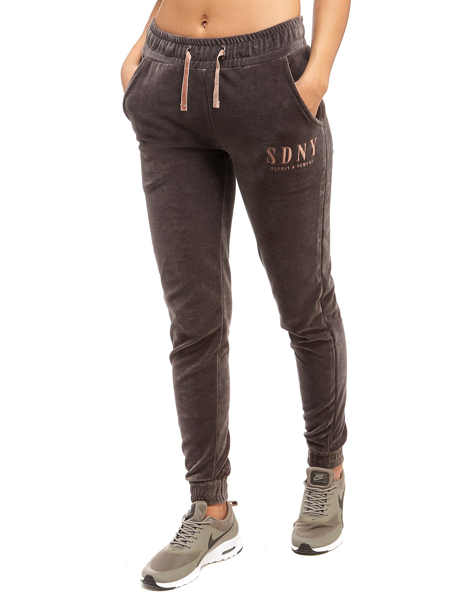 Supply & Demand Velour Joggers