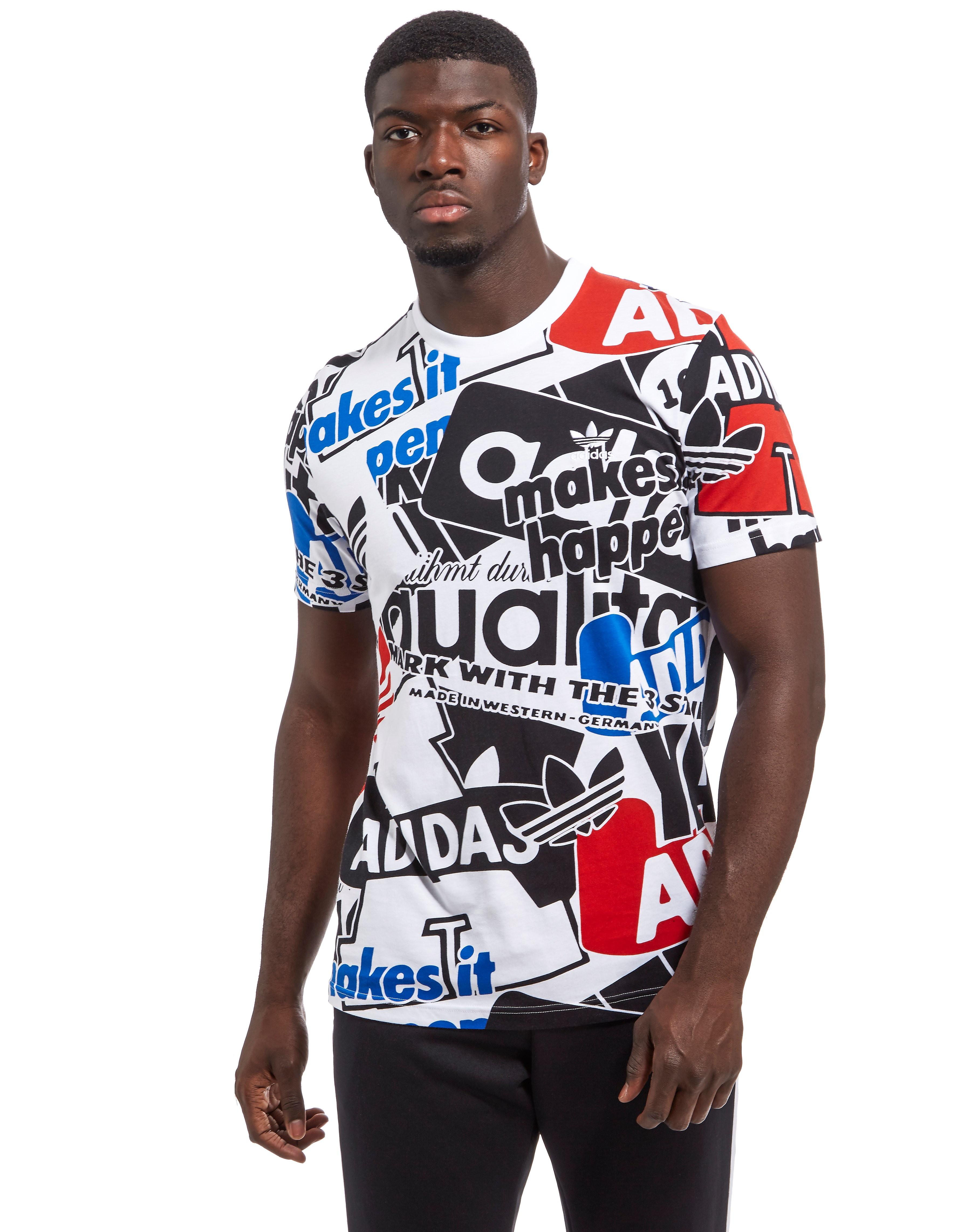 adidas Originals camiseta Loud AOP