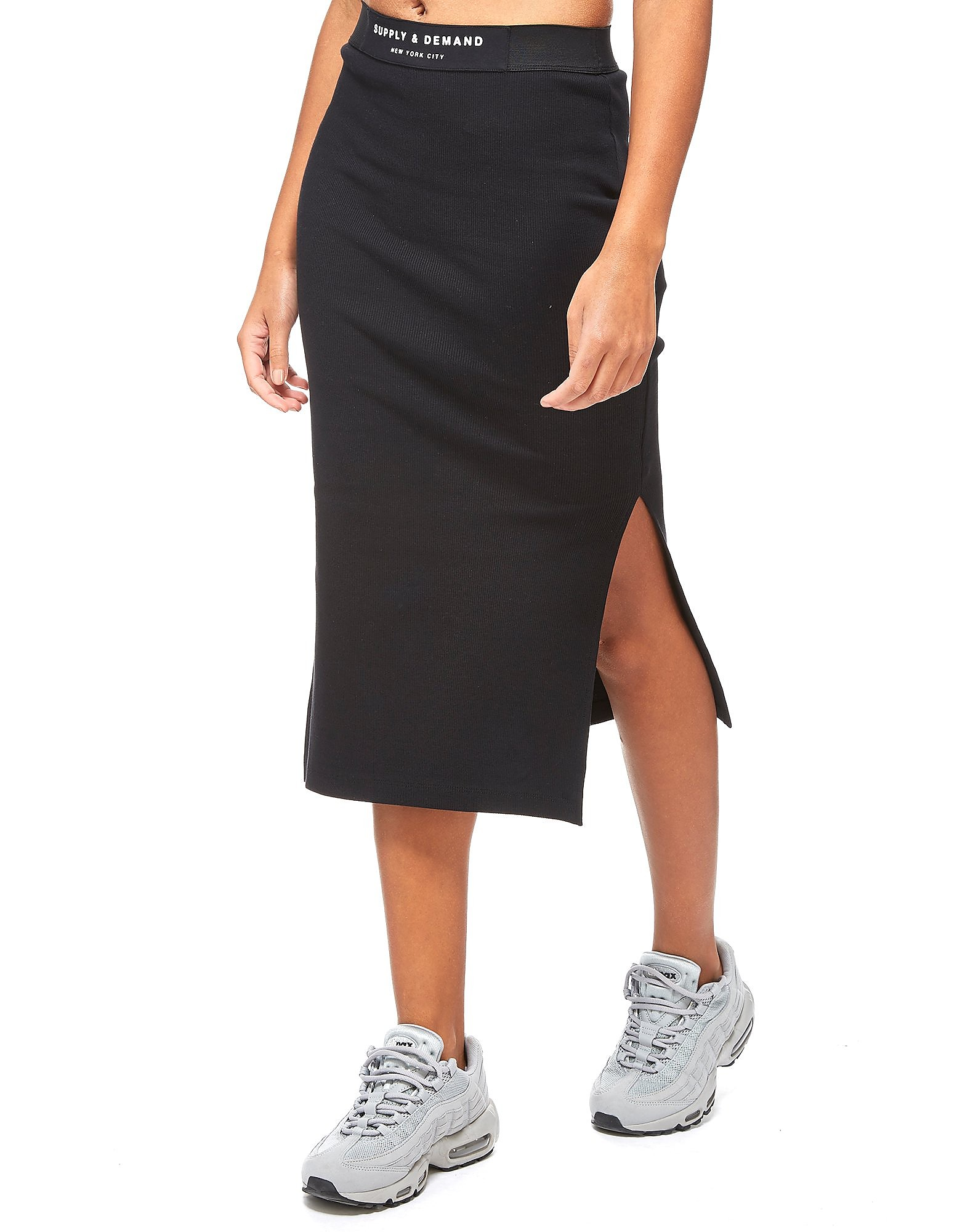 Supply & Demand Rib Maxi Skirt